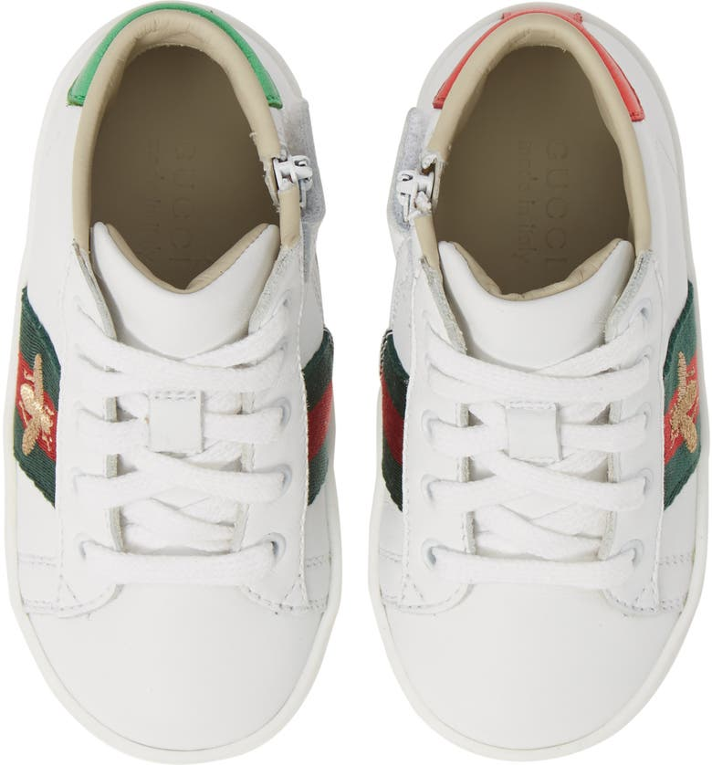 92b393a217682 Gucci New Ace High Top Sneaker (Baby