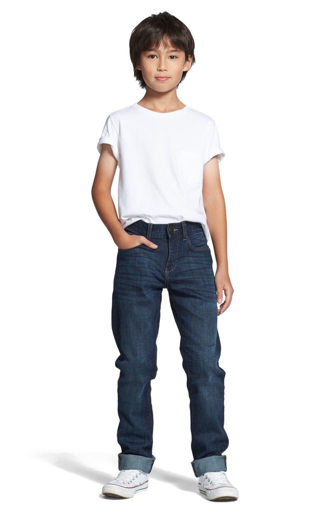 DL1961, 'Brady' Slim Fit Jeans, Alternate thumbnail 5, color, FERRET