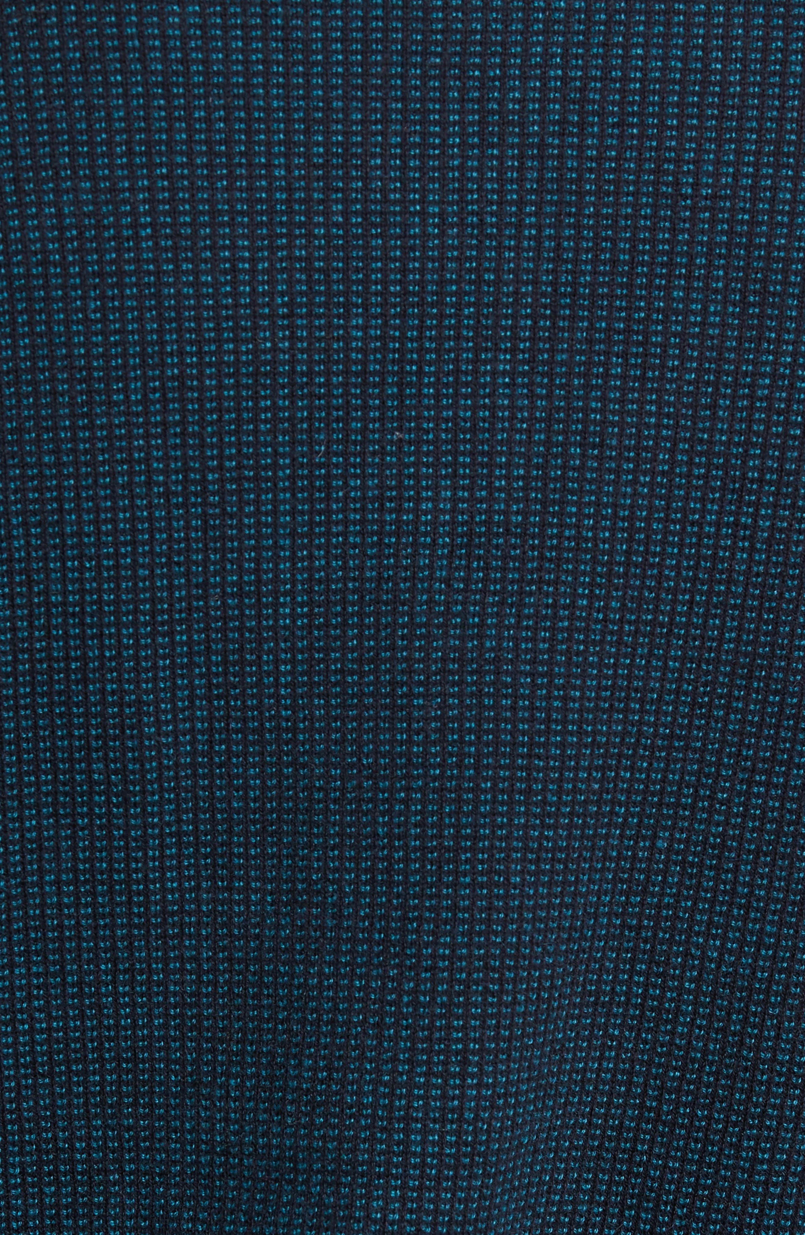 ZACHARY PRELL, Kimball Henley Sweater, Alternate thumbnail 5, color, EMERALD