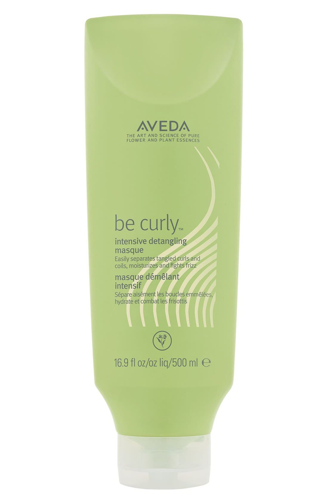 AVEDA, be curly<sup>™</sup> Intensive Detangling Masque, Alternate thumbnail 4, color, NO COLOR