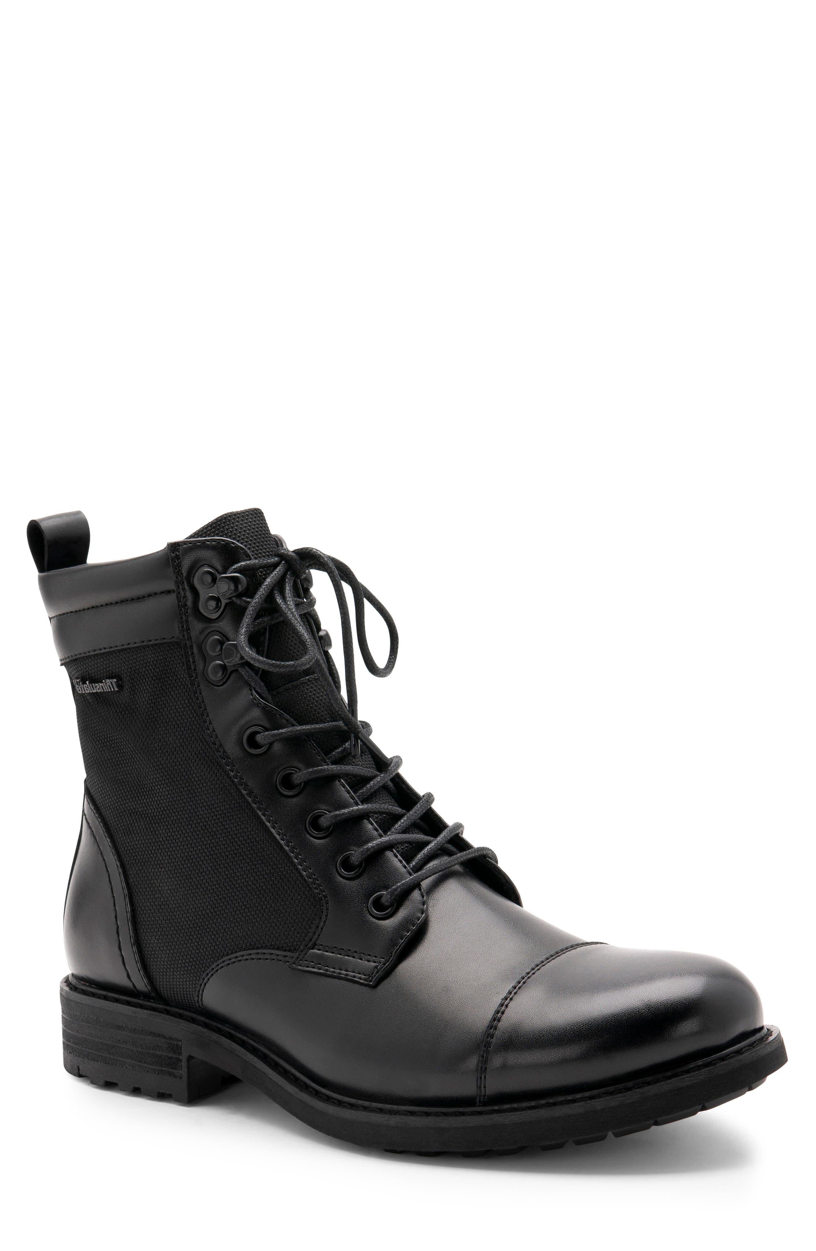 Blondo Paxton Waterproof Cap Toe Boot- Black