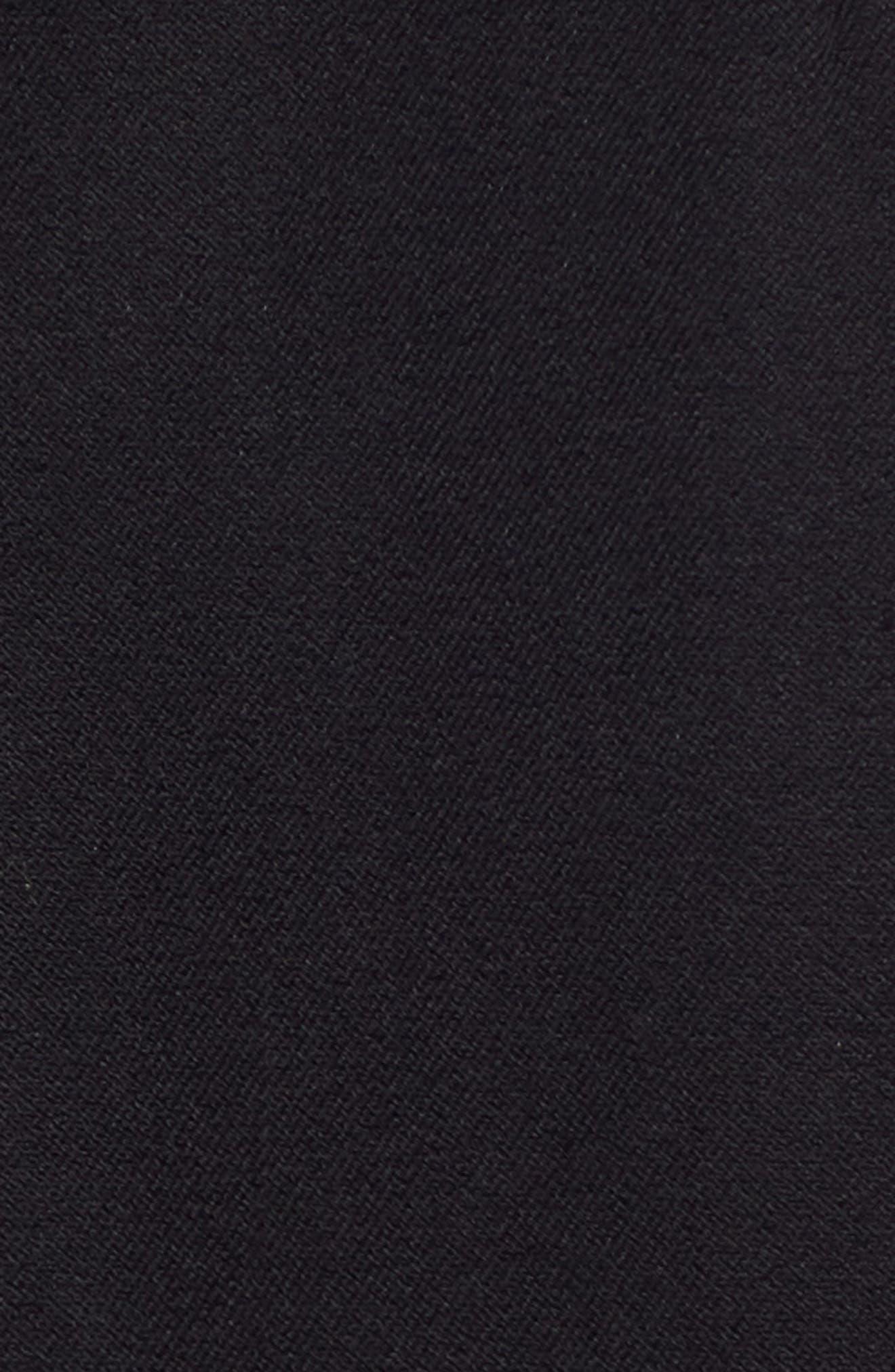 1901, Stretch Cotton Twill Blazer, Alternate thumbnail 7, color, BLACK