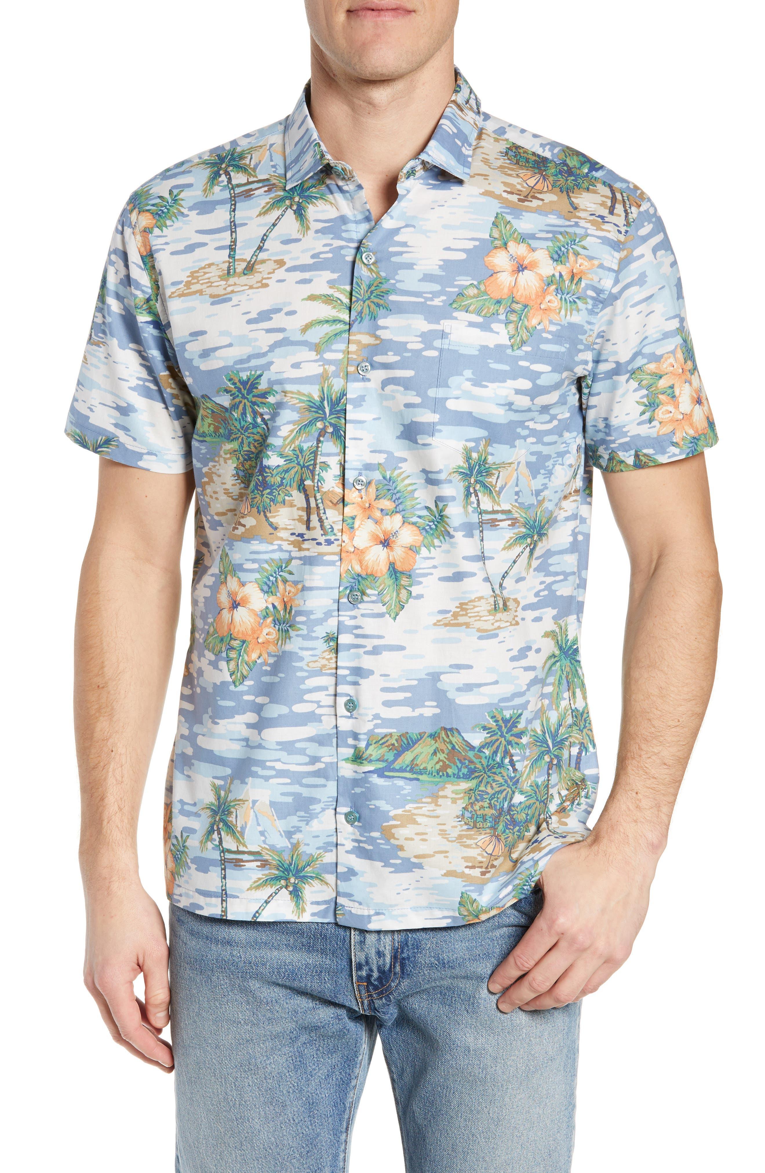 TORI RICHARD Archipelago Regular Fit Sport Shirt, Main, color, 061
