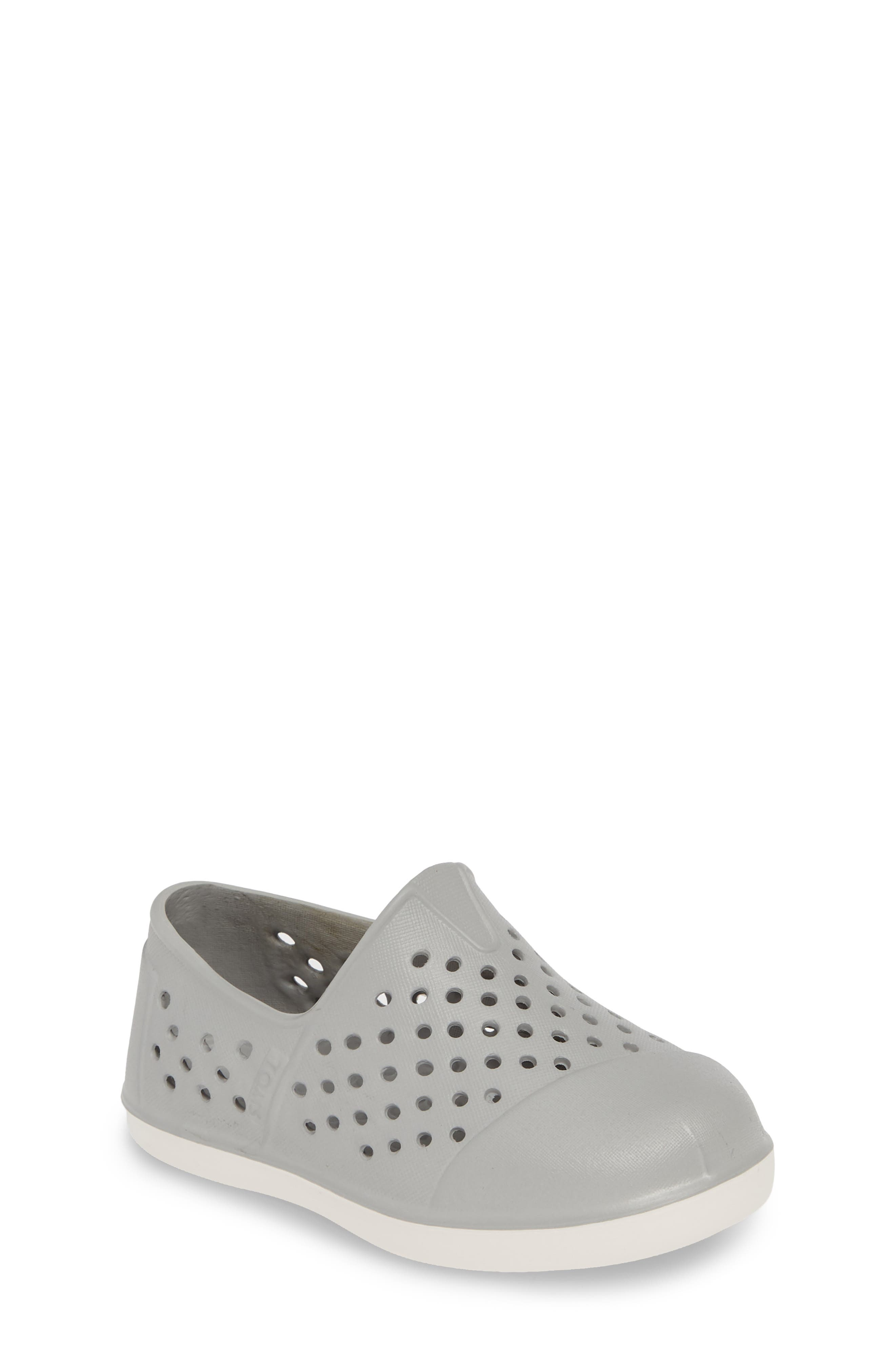 TOMS, 'Romper' Slip-On, Main thumbnail 1, color, GREY