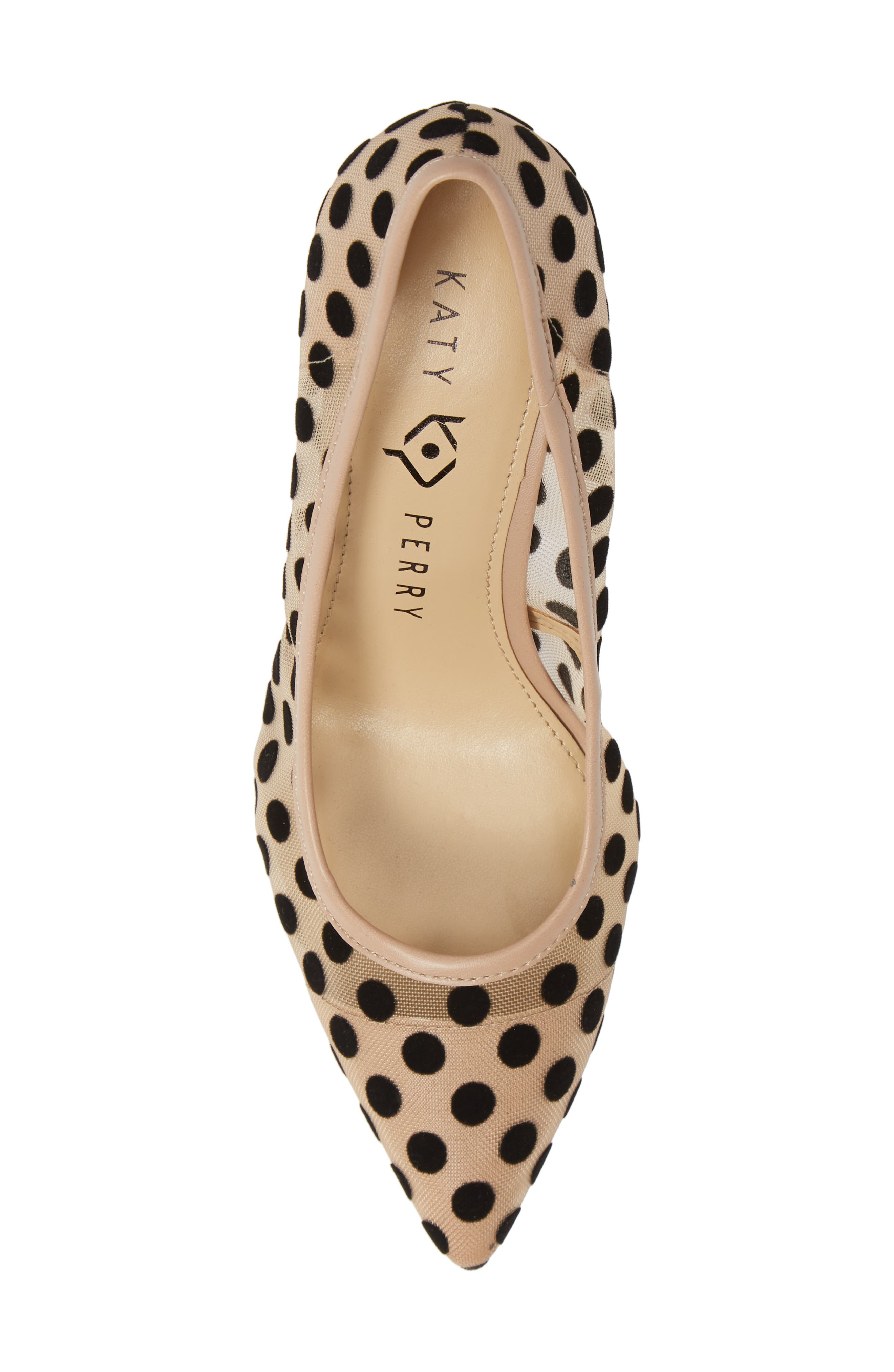 KATY PERRY, Pointy Toe Pump, Alternate thumbnail 5, color, 270