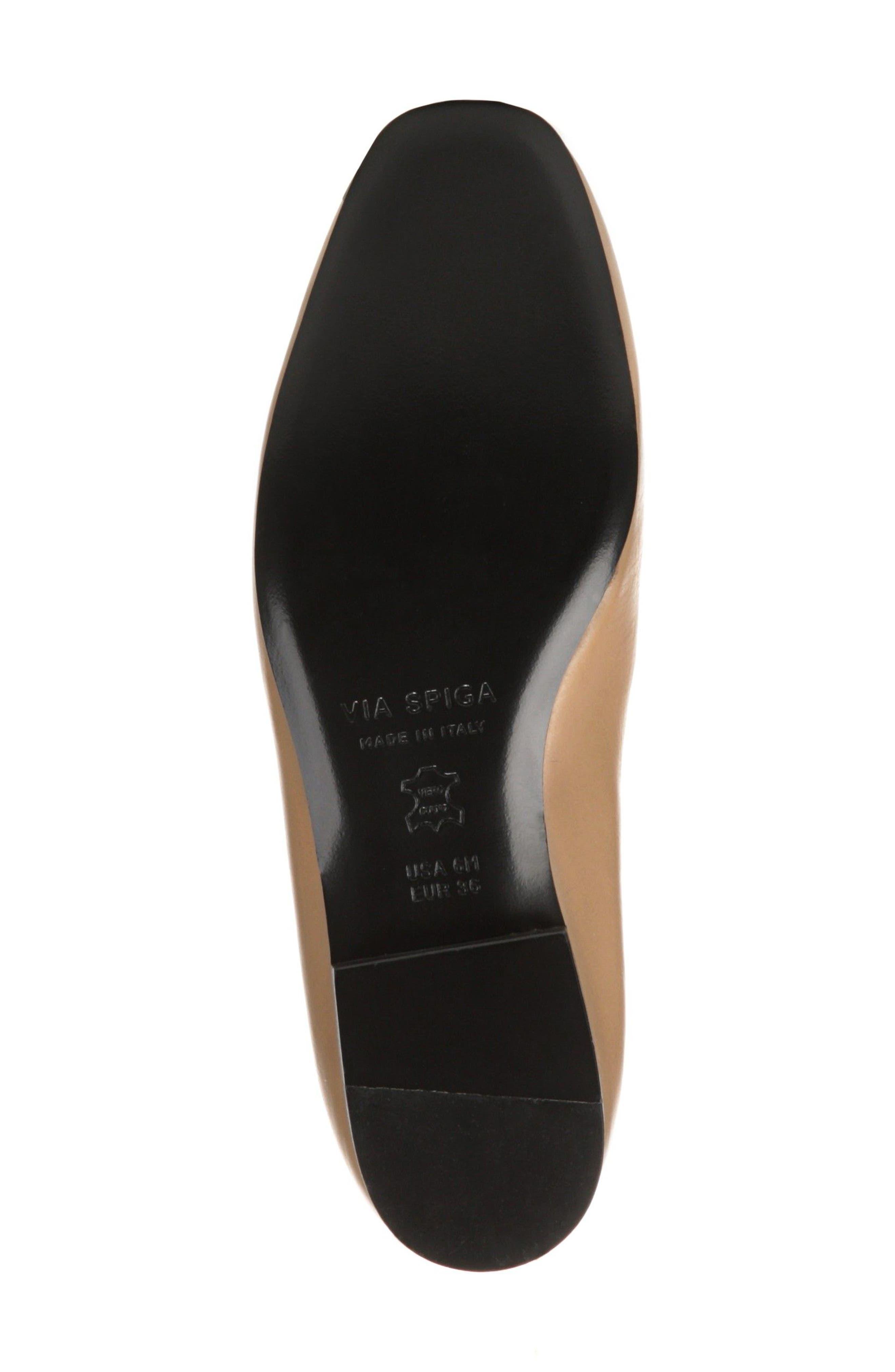 VIA SPIGA, Tallis Flat Loafer, Alternate thumbnail 6, color, 250