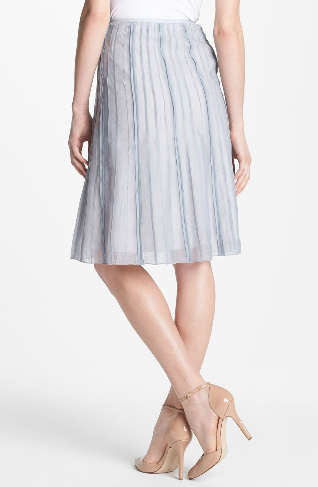 NIC+ZOE, Nic + Zoe 'Batiste' Flared Skirt, Alternate thumbnail 2, color, 041
