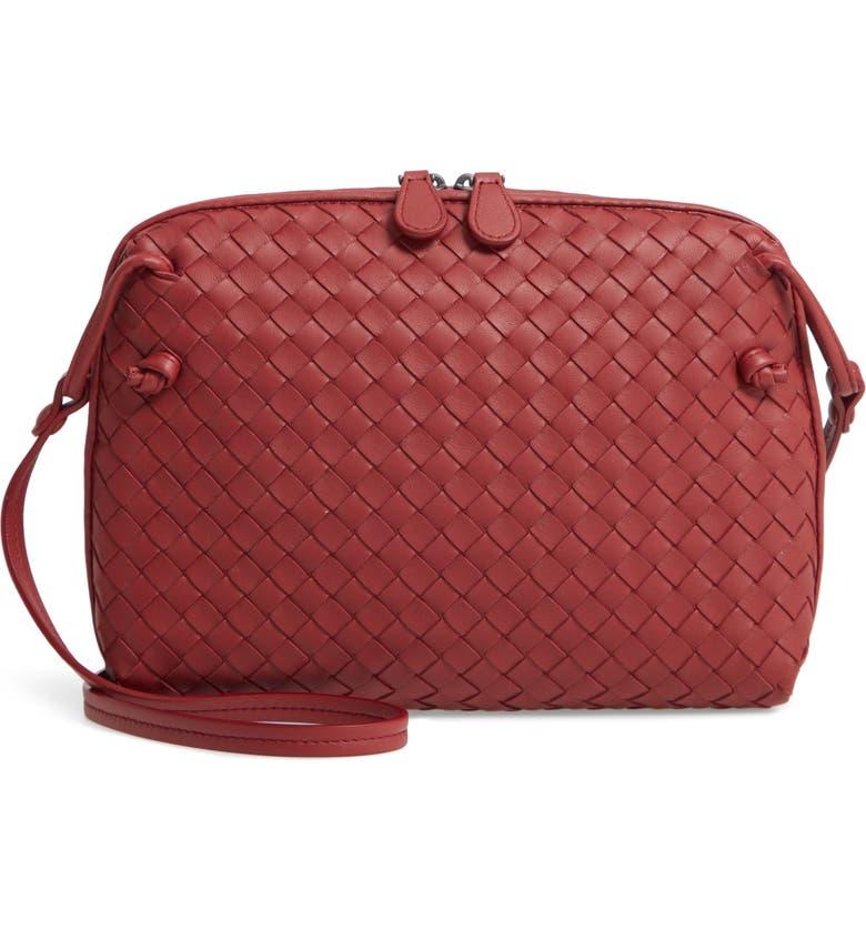 2df977d7ff Bottega Veneta Nodini Woven Leather Crossbody Bag