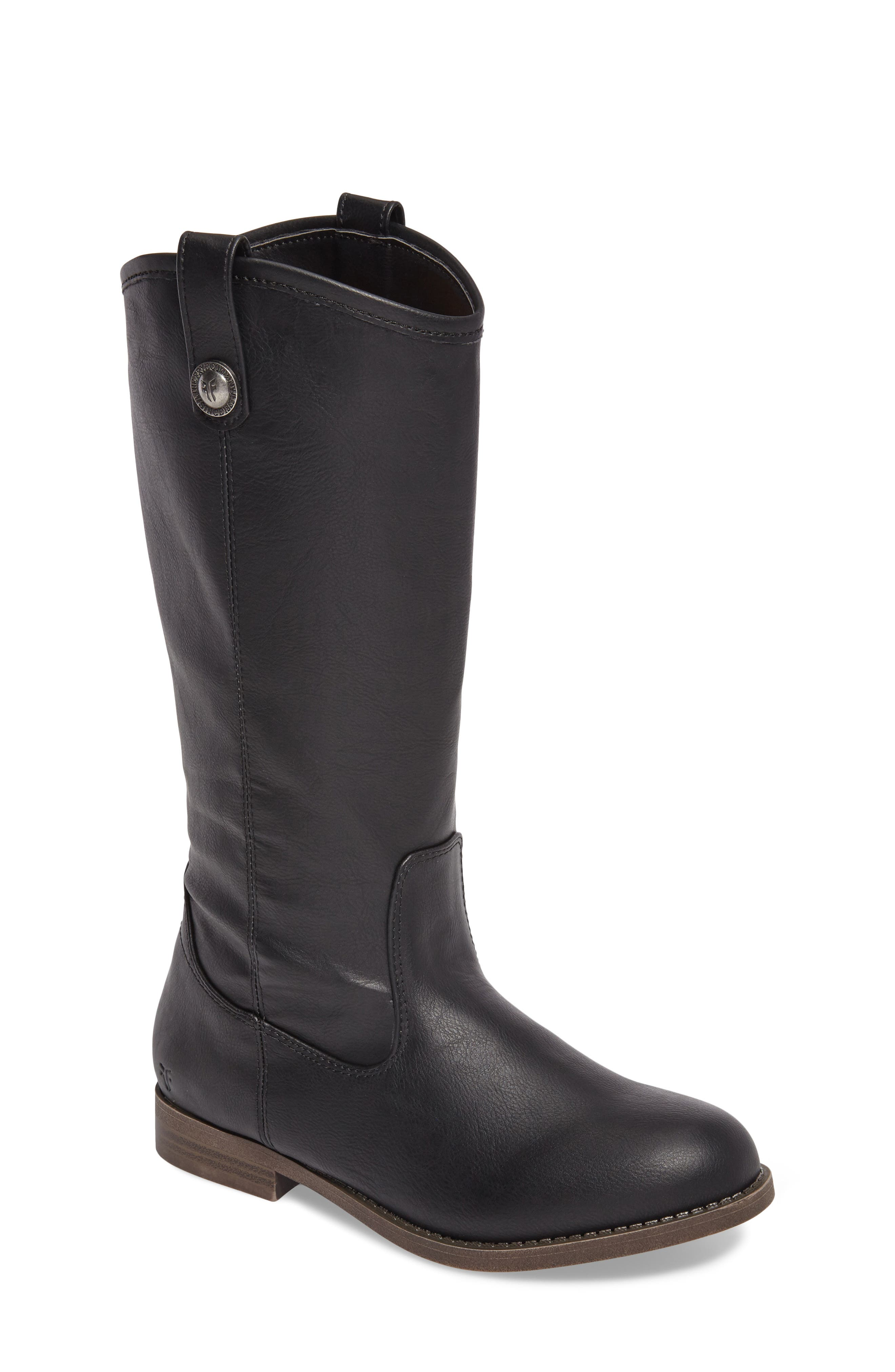 FRYE Melissa Button Riding Boot, Main, color, 001