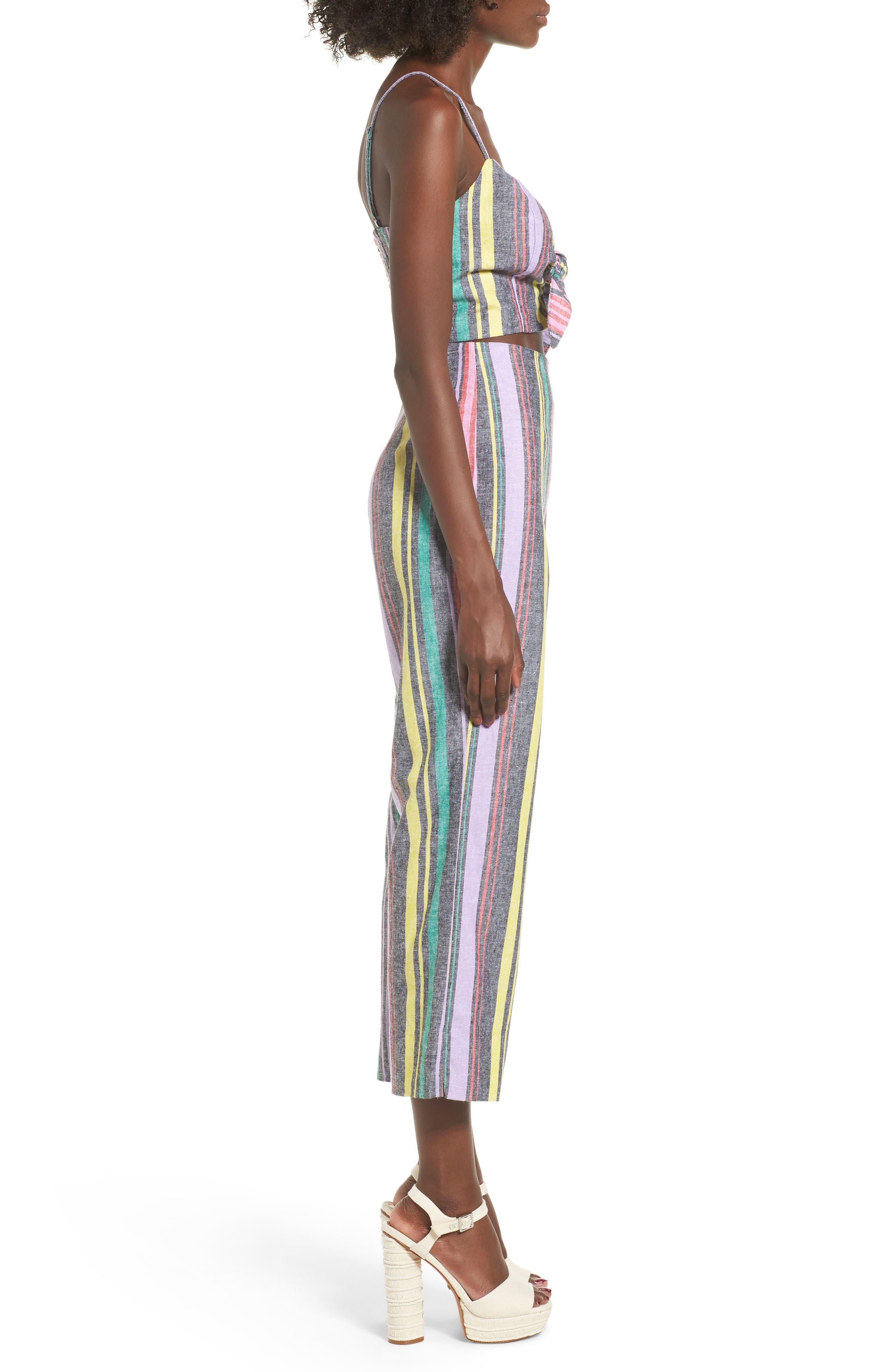 AFRM, Karina High Waist Crop Flare Pant, Alternate thumbnail 10, color, 650