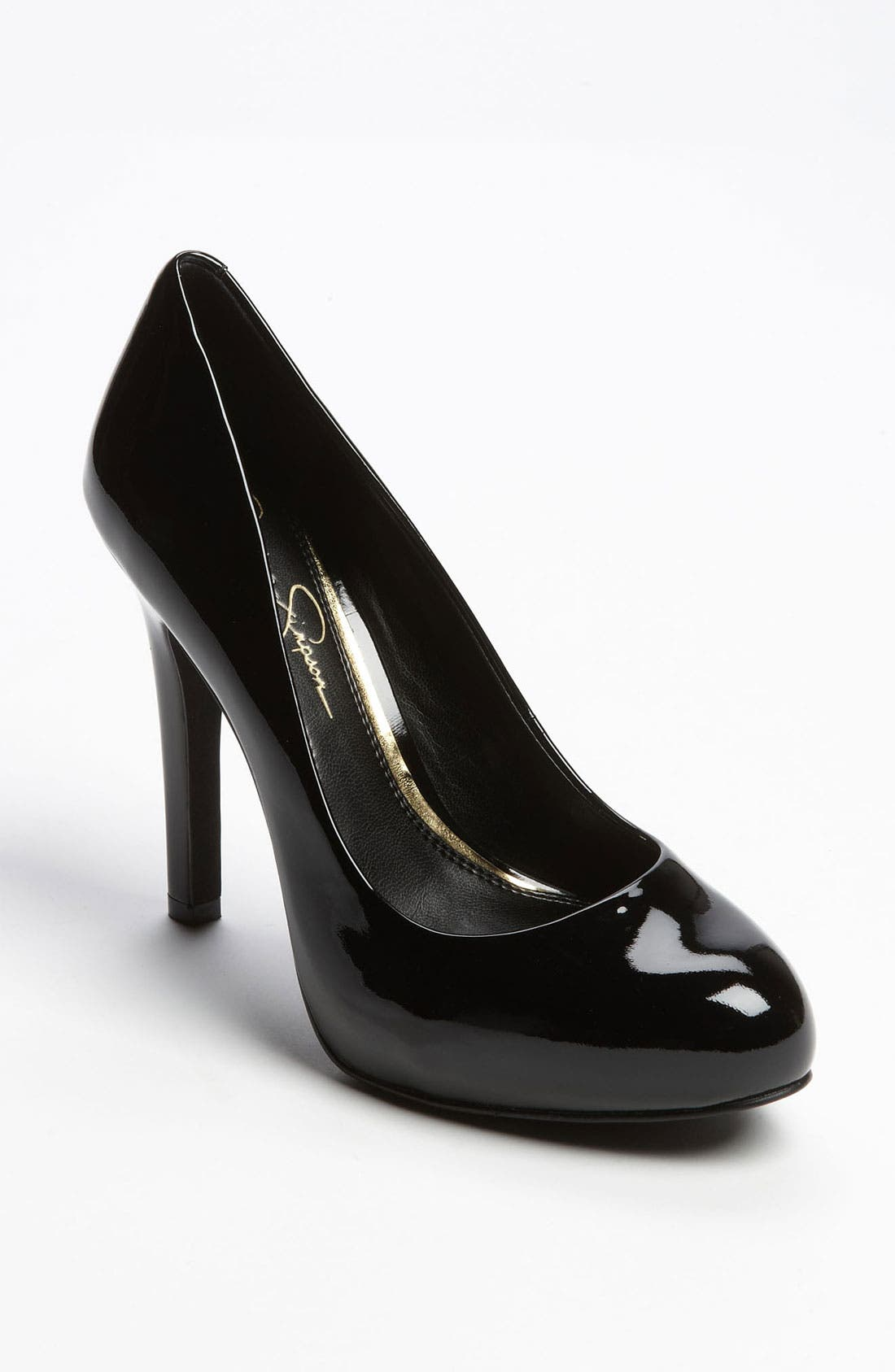 JESSICA SIMPSON, 'Abriana' Pump, Main thumbnail 1, color, 001