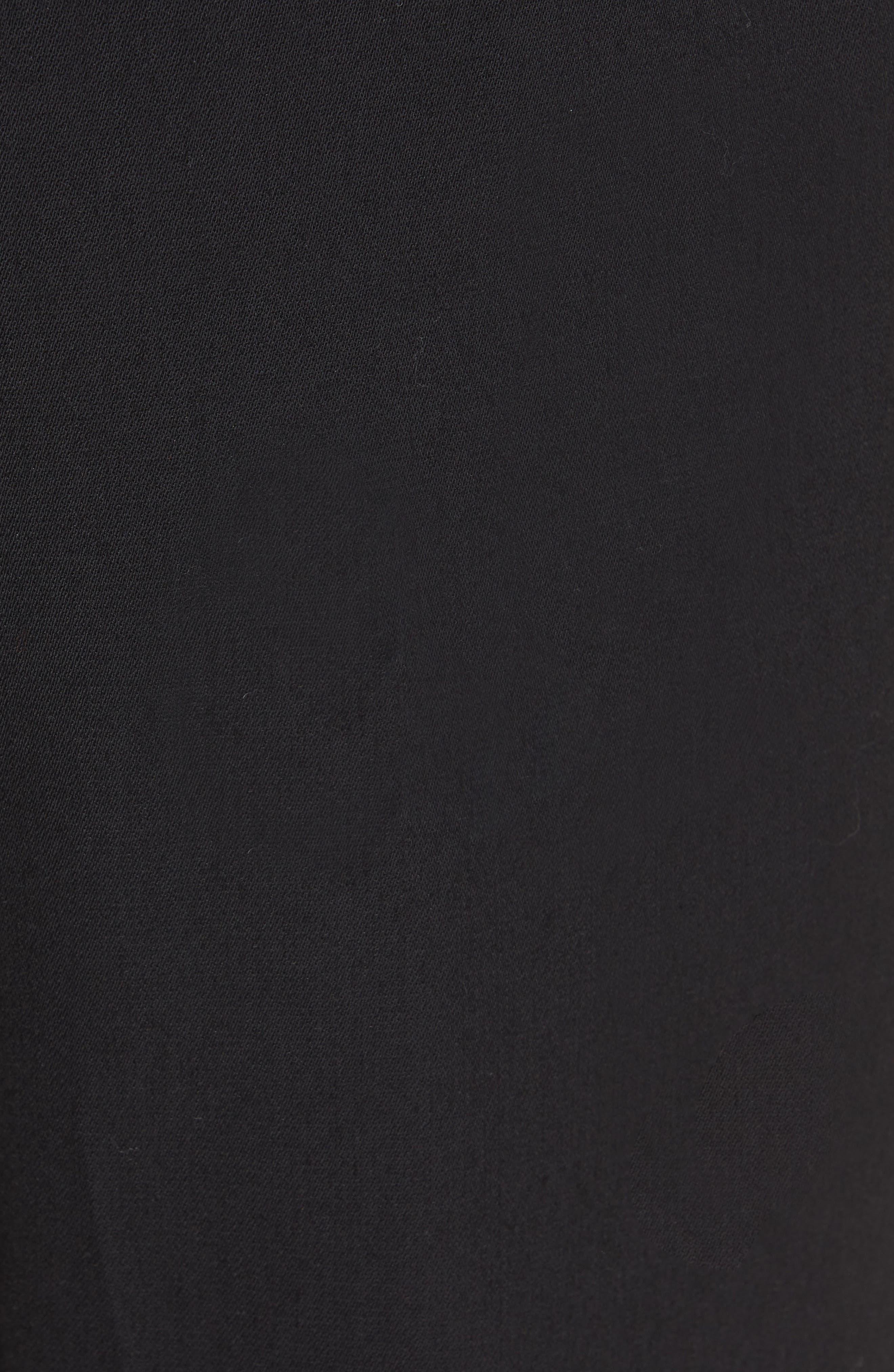 VINCE, Cuffed Jogger Pants, Alternate thumbnail 6, color, BLACK