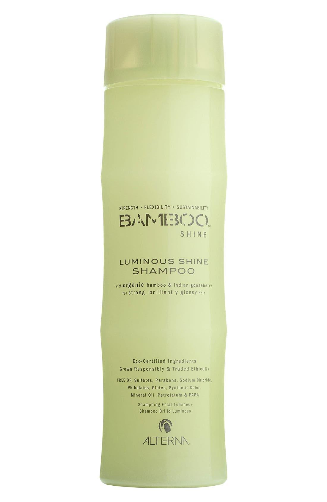 ALTERNA<SUP>®</SUP>, Bamboo Shine Luminous Shine Shampoo, Main thumbnail 1, color, NO COLOR