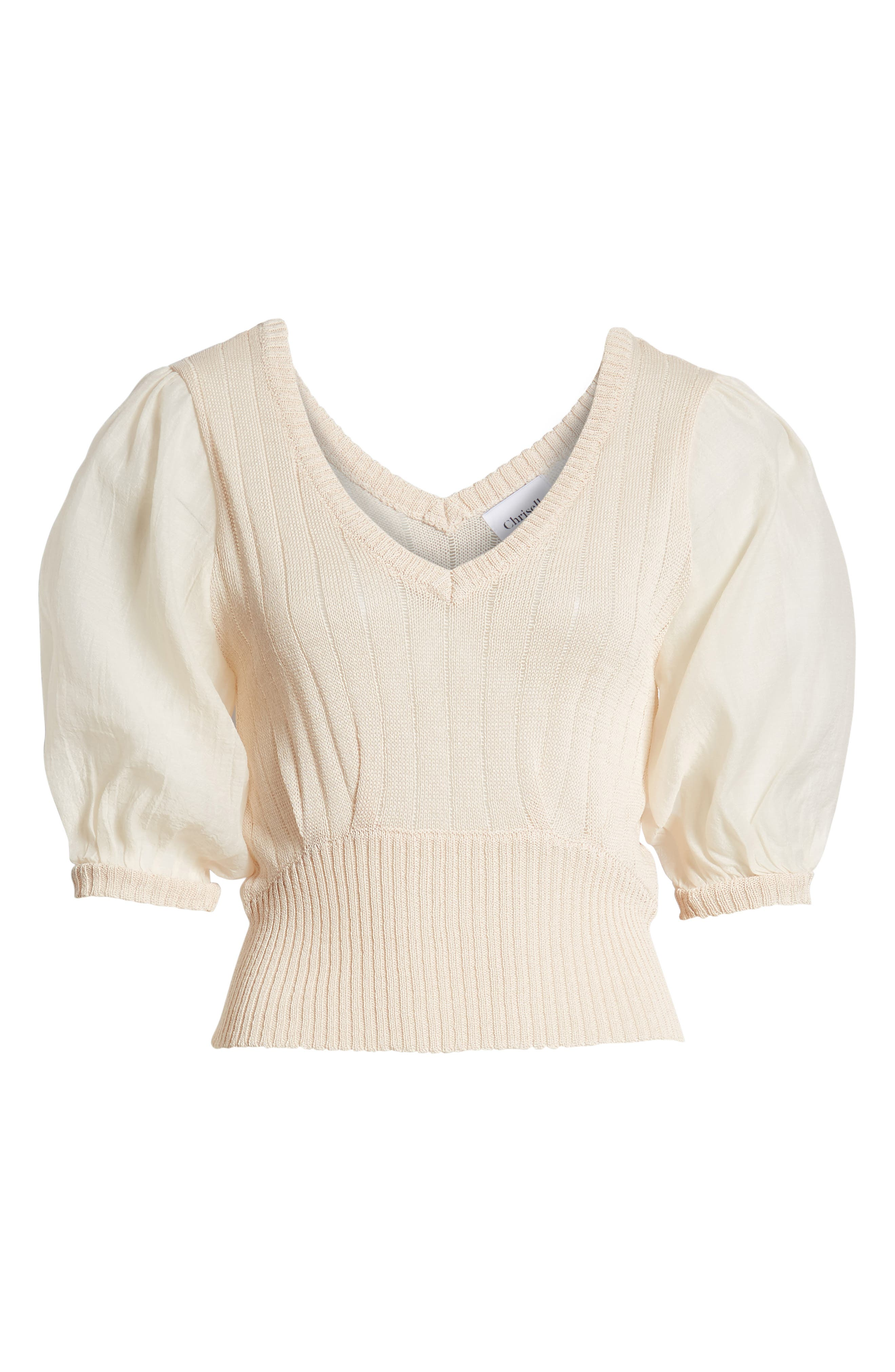 CHRISELLE LIM COLLECTION, Chriselle Lim Sweater, Alternate thumbnail 6, color, 250