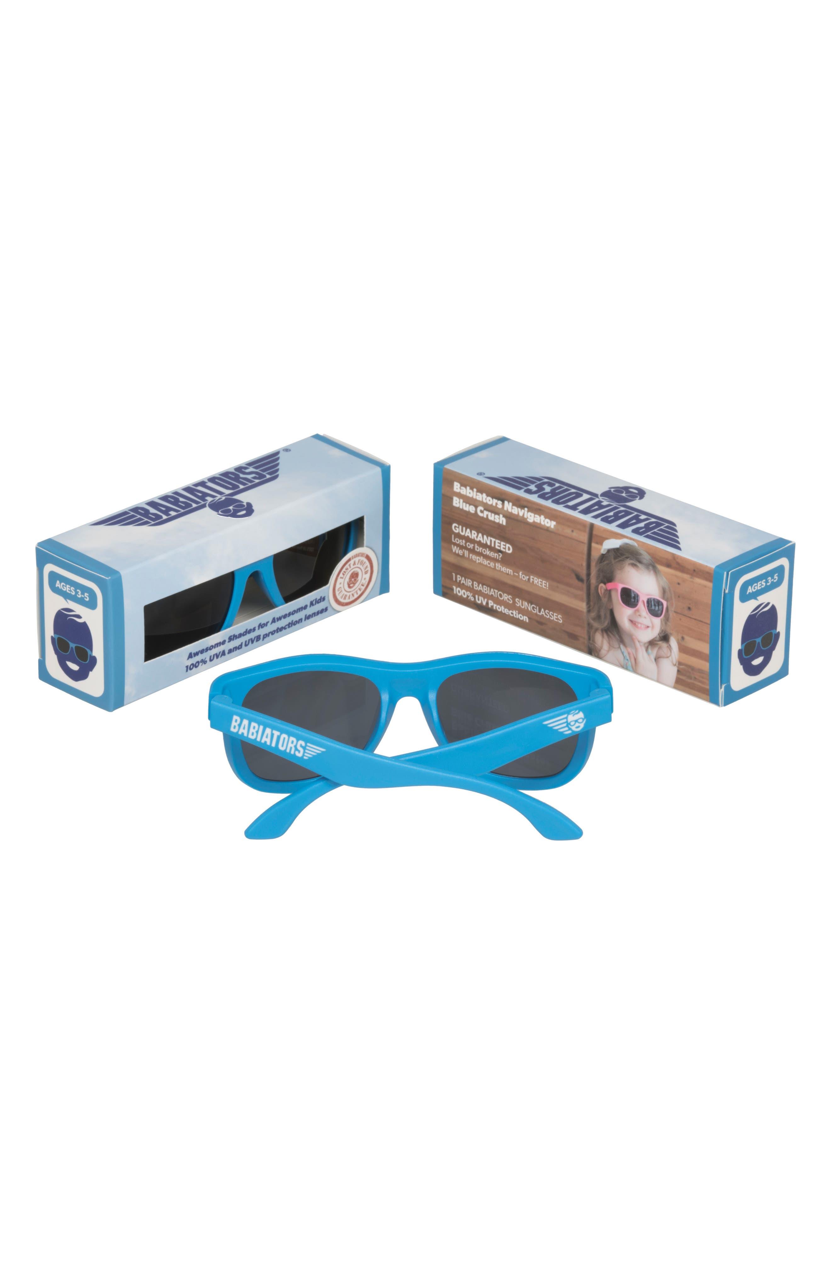 BABIATORS, Original Navigators Sunglasses, Alternate thumbnail 2, color, BLUE CRUSH