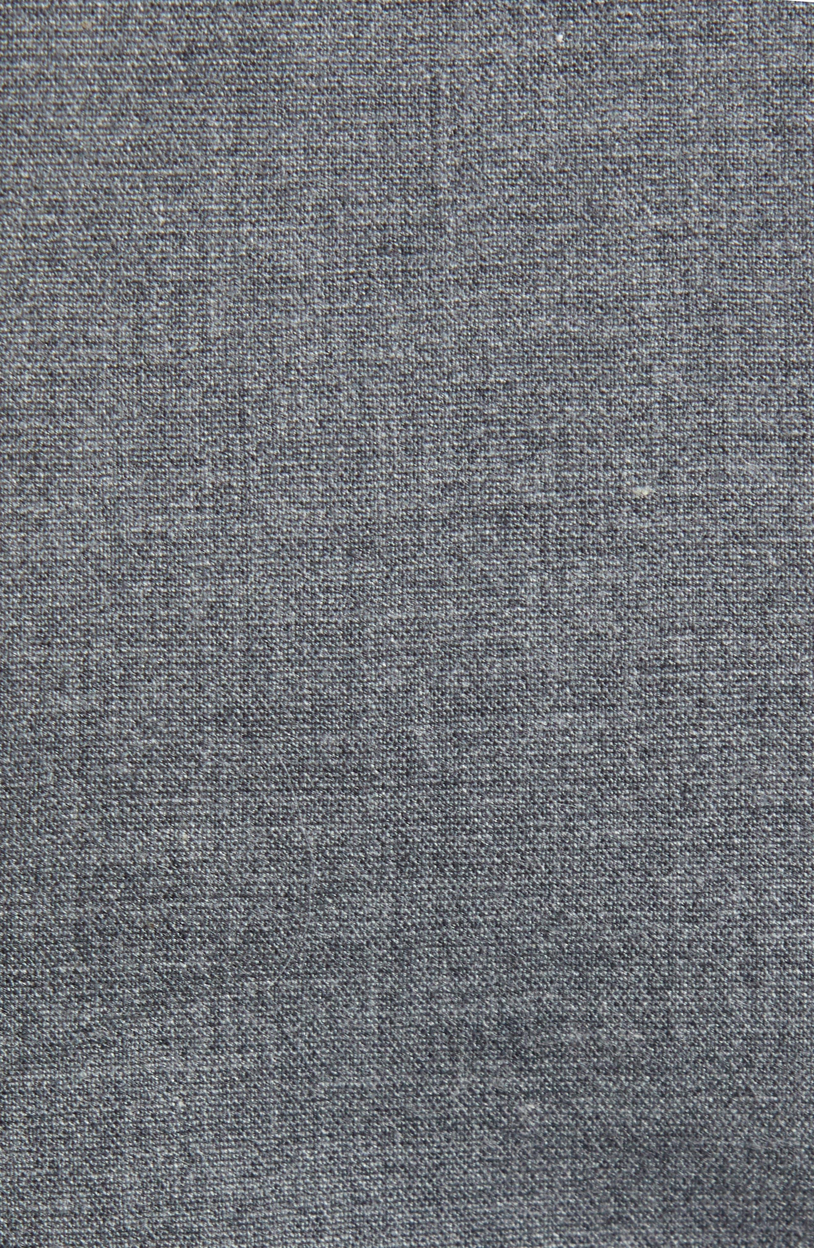 1901, Trim Fit Drawstring Pants, Alternate thumbnail 5, color, GREY FILIGREE