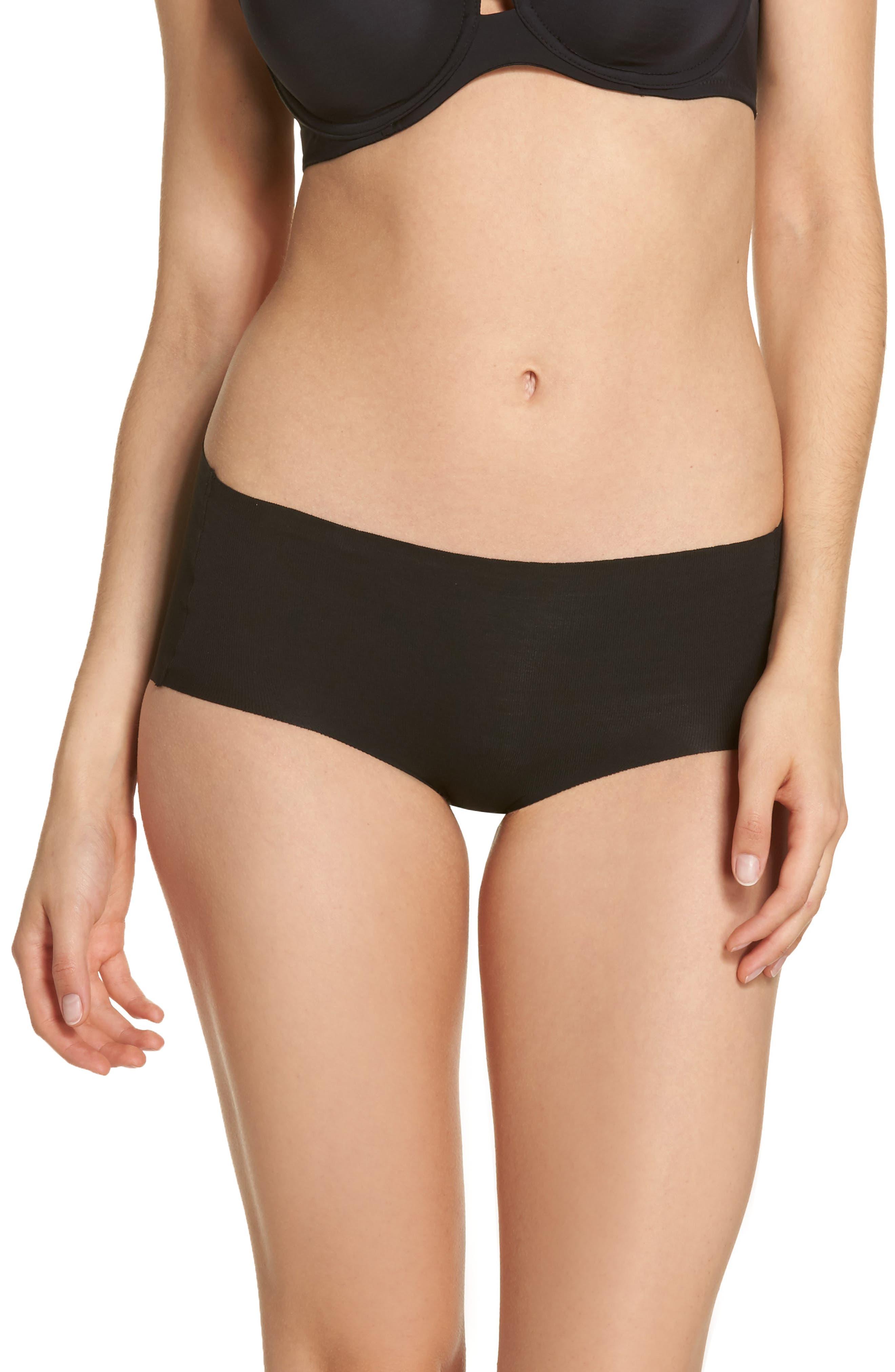 WACOAL Beyond Naked Hipster Panties, Main, color, BLACK
