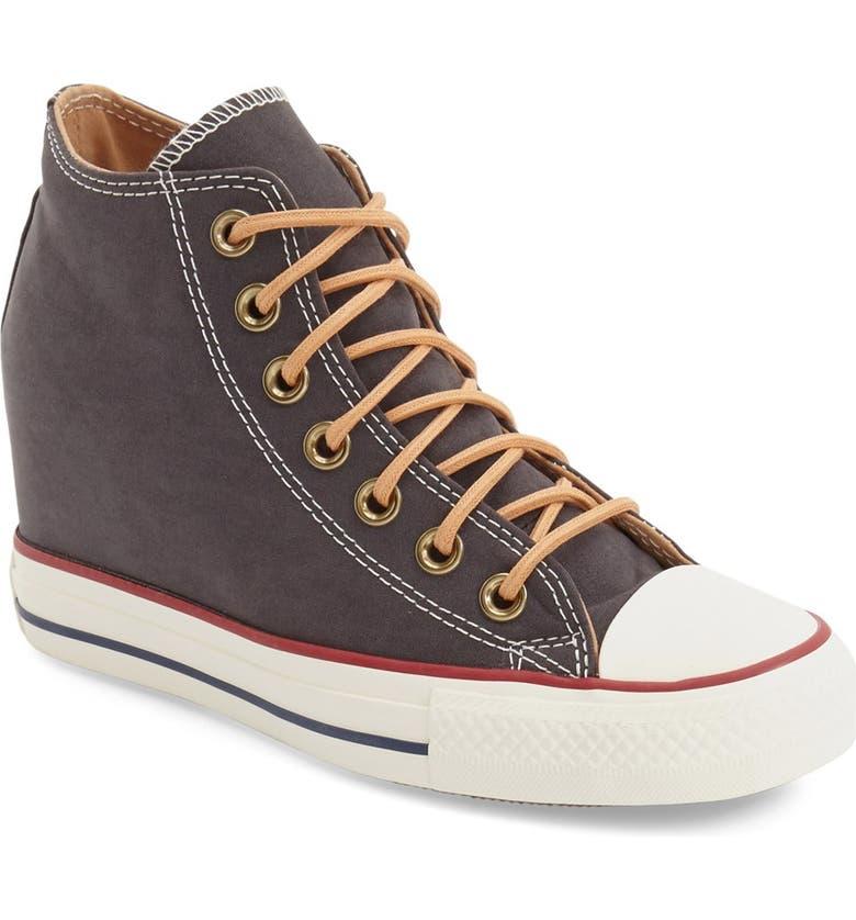 8fe81ba3efef Converse Chuck Taylor® All Star®  Lux  Hidden Wedge High Top Sneaker ...