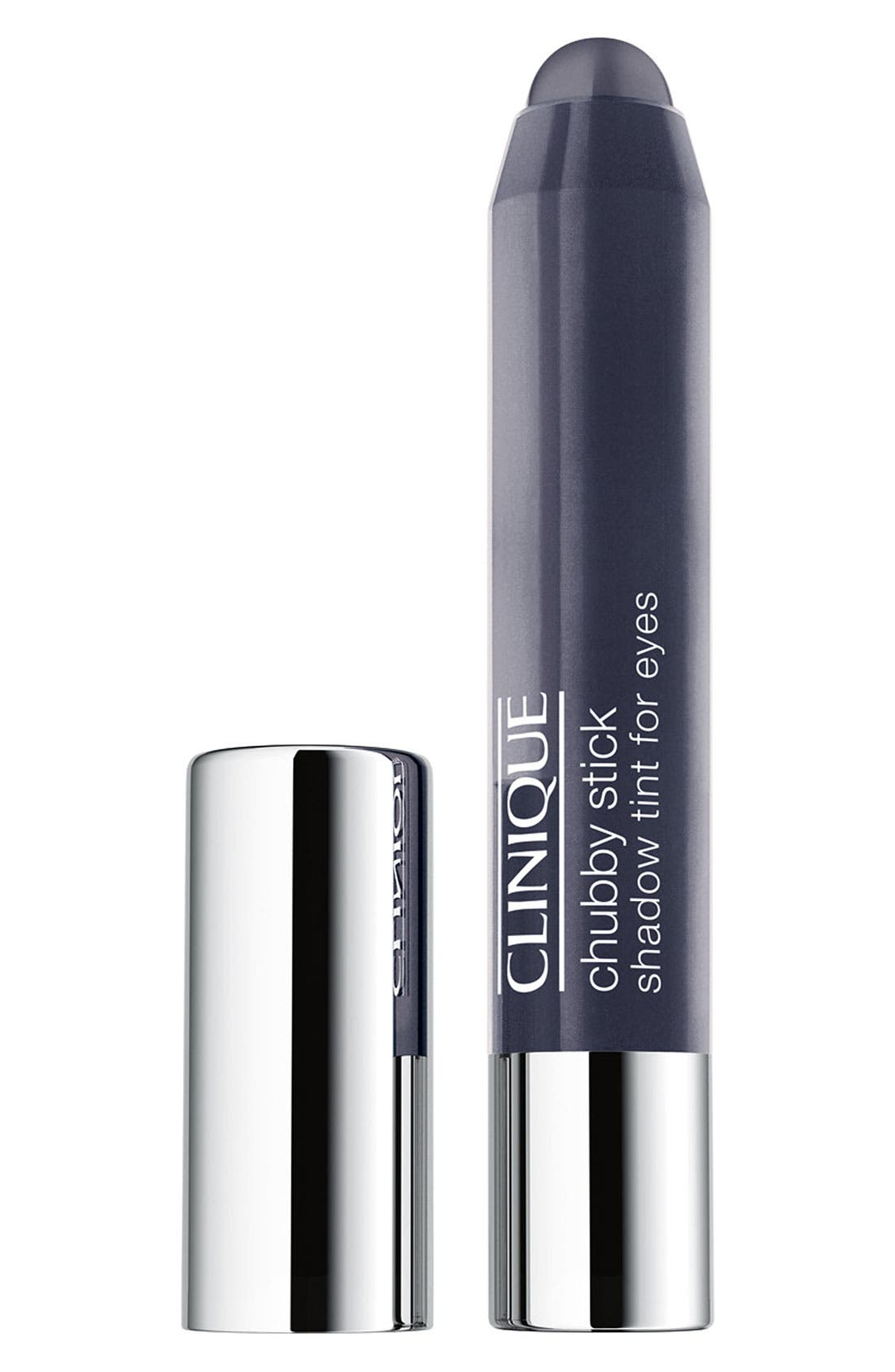 CLINIQUE Chubby Stick Shadow Tint for Eyes, Main, color, CURVACEOUS COAL