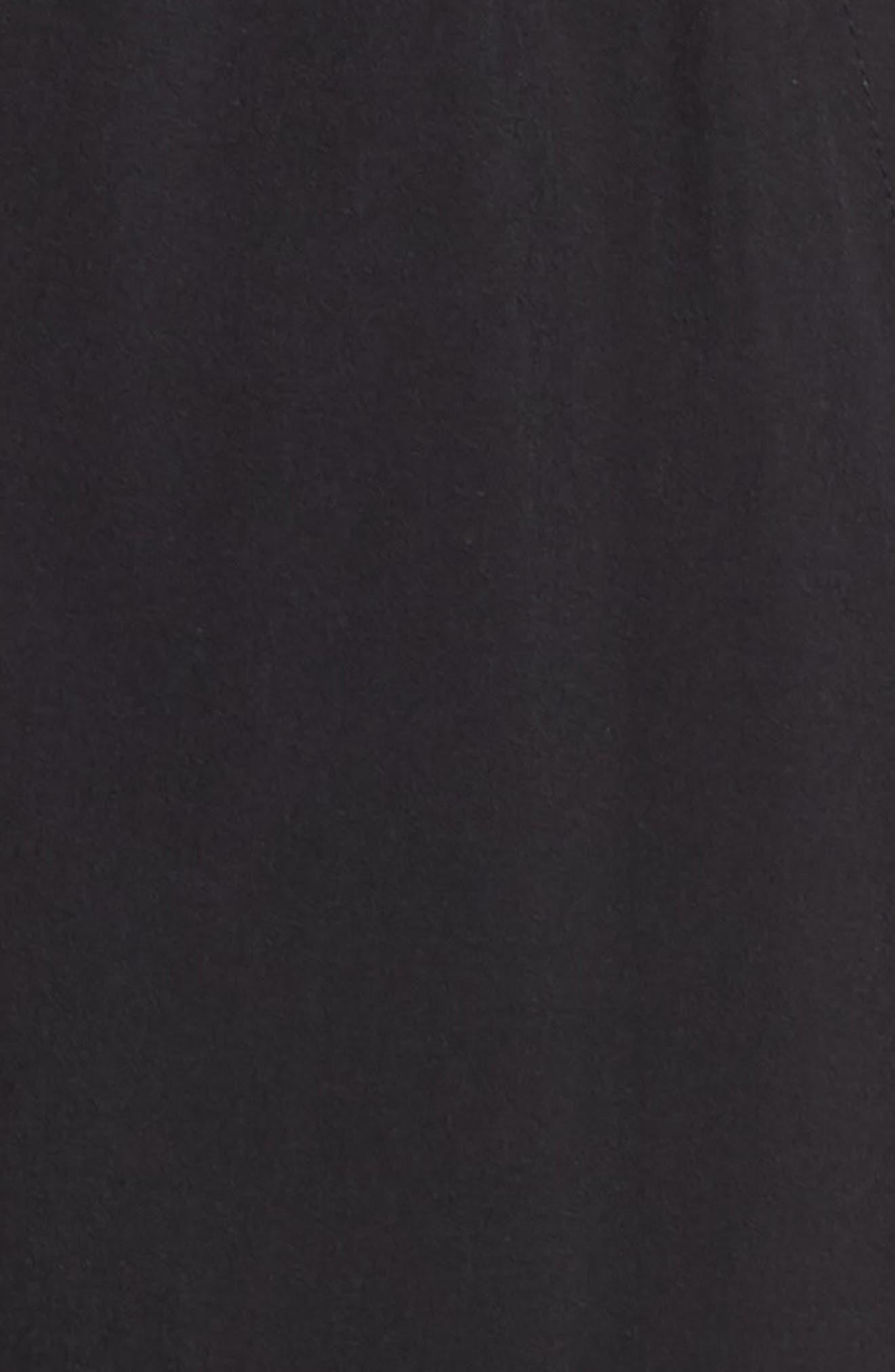 ZELLA, Urban Cargo Jogger Pants, Alternate thumbnail 6, color, BLACK