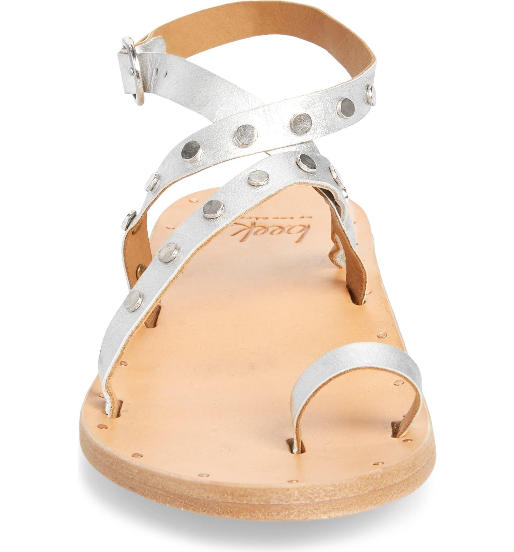 6aa3389b71d3 Beek Lorikeet Studded Strappy Flat Sandal (Women)