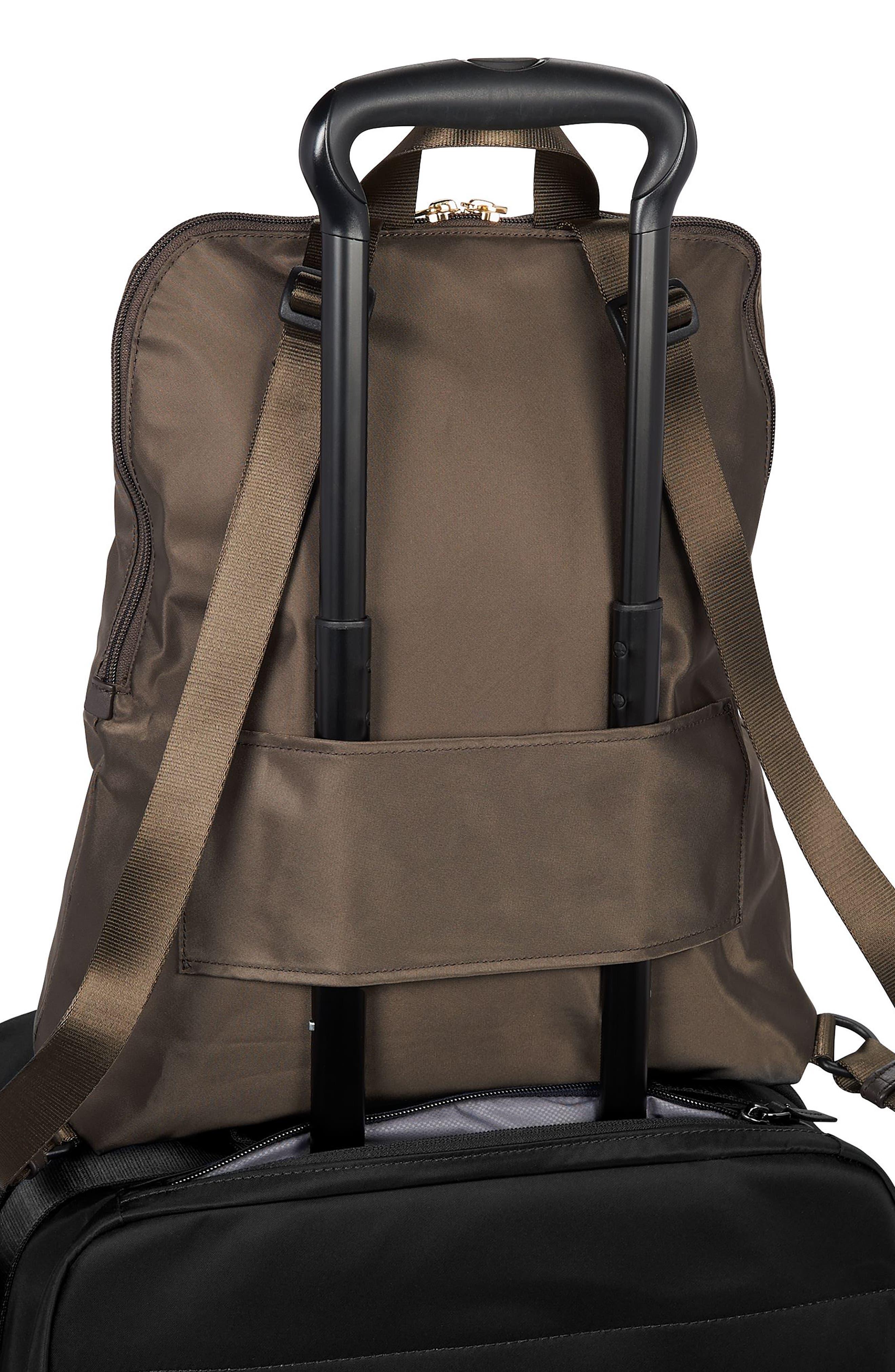 TUMI, Voyageur - Just in Case Nylon Travel Backpack, Alternate thumbnail 6, color, MINK