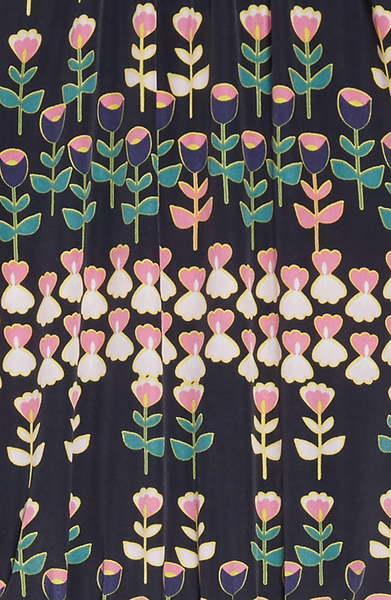 CREWCUTS BY J.CREW, Naomi Floral Print Jumpsuit, Alternate thumbnail 2, color, 411