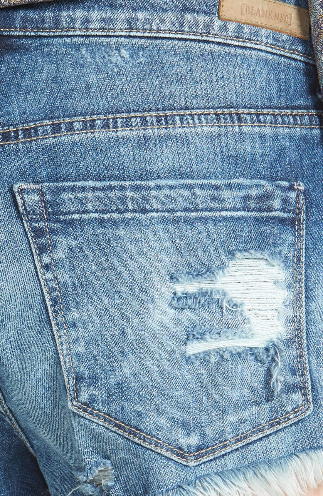 BLANKNYC, 'Fit of Rage' Cutoff Denim Shorts, Alternate thumbnail 2, color, 420