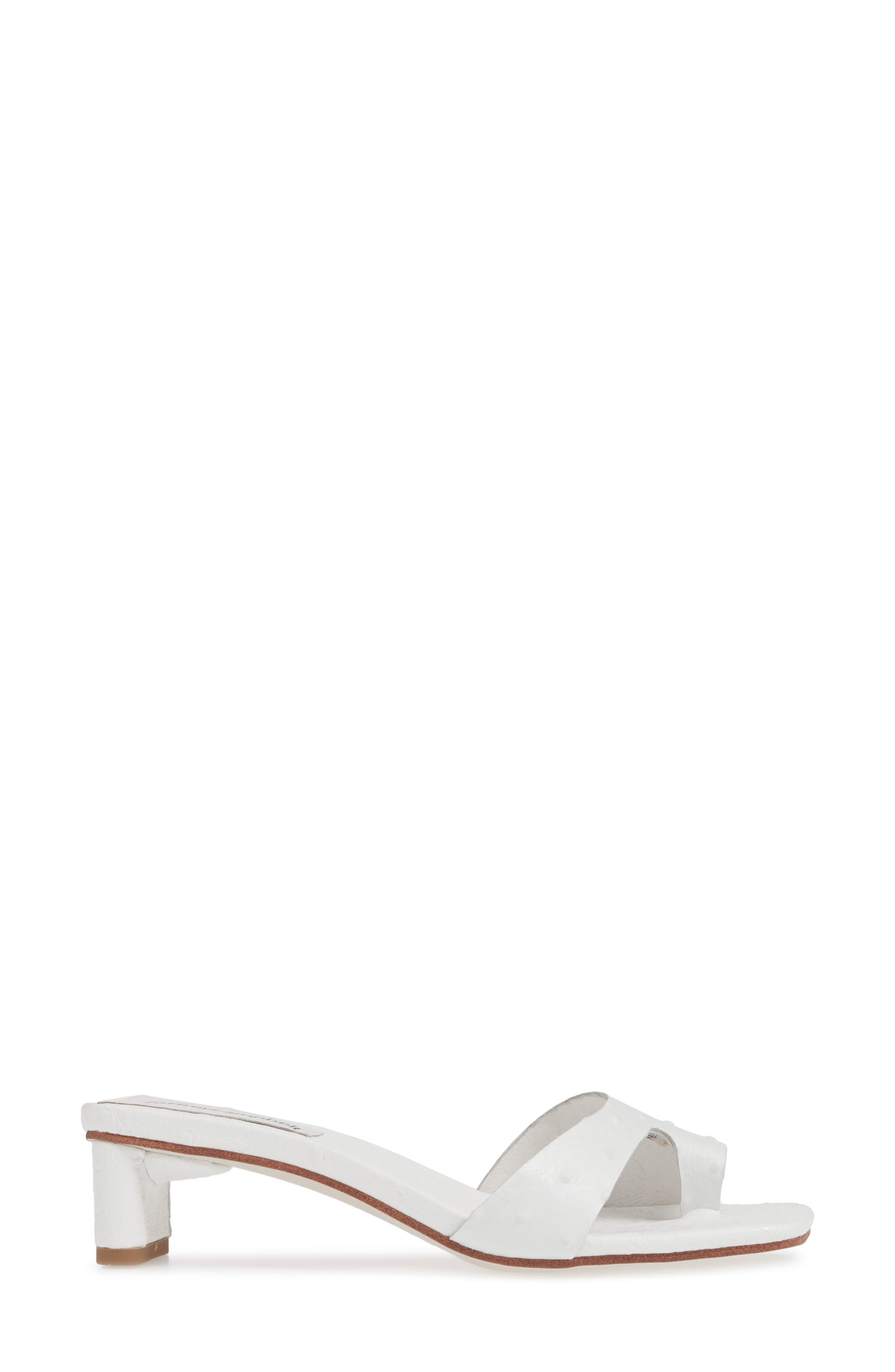 JEFFREY CAMPBELL, Teclado Slide Sandal, Alternate thumbnail 3, color, 121