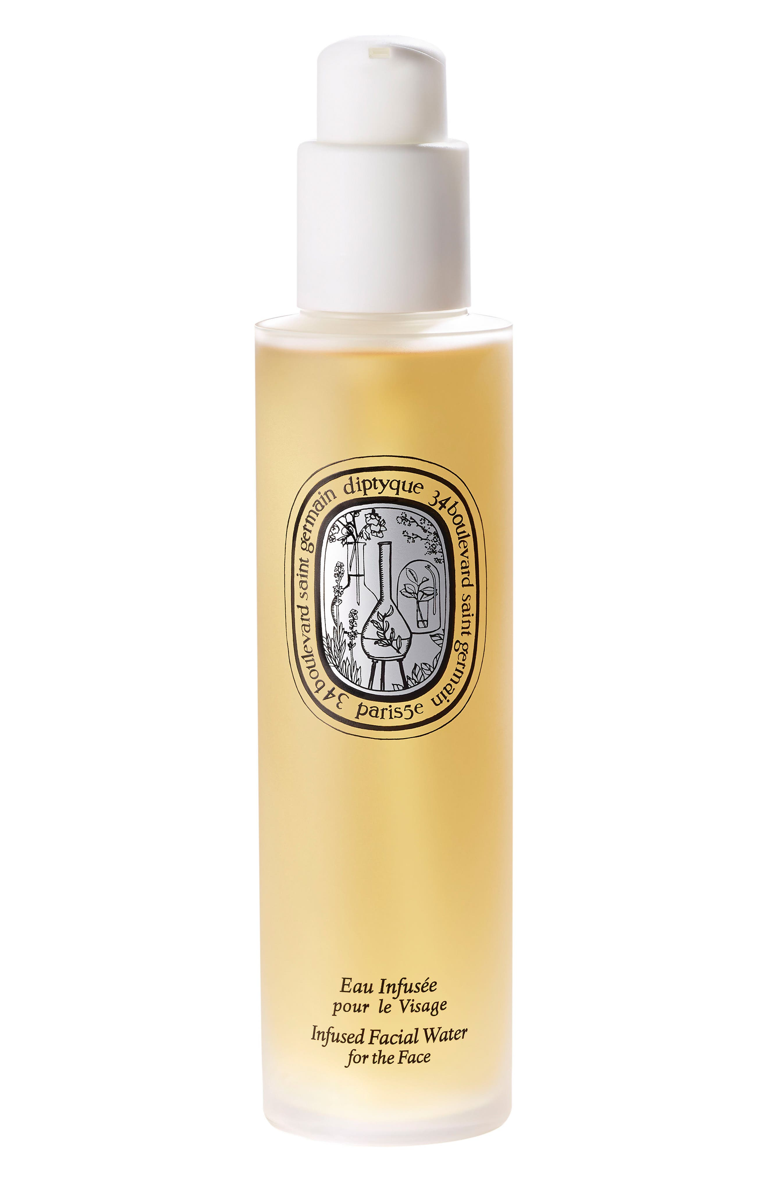 DIPTYQUE, Infused Facial Water for the Face, Main thumbnail 1, color, 000