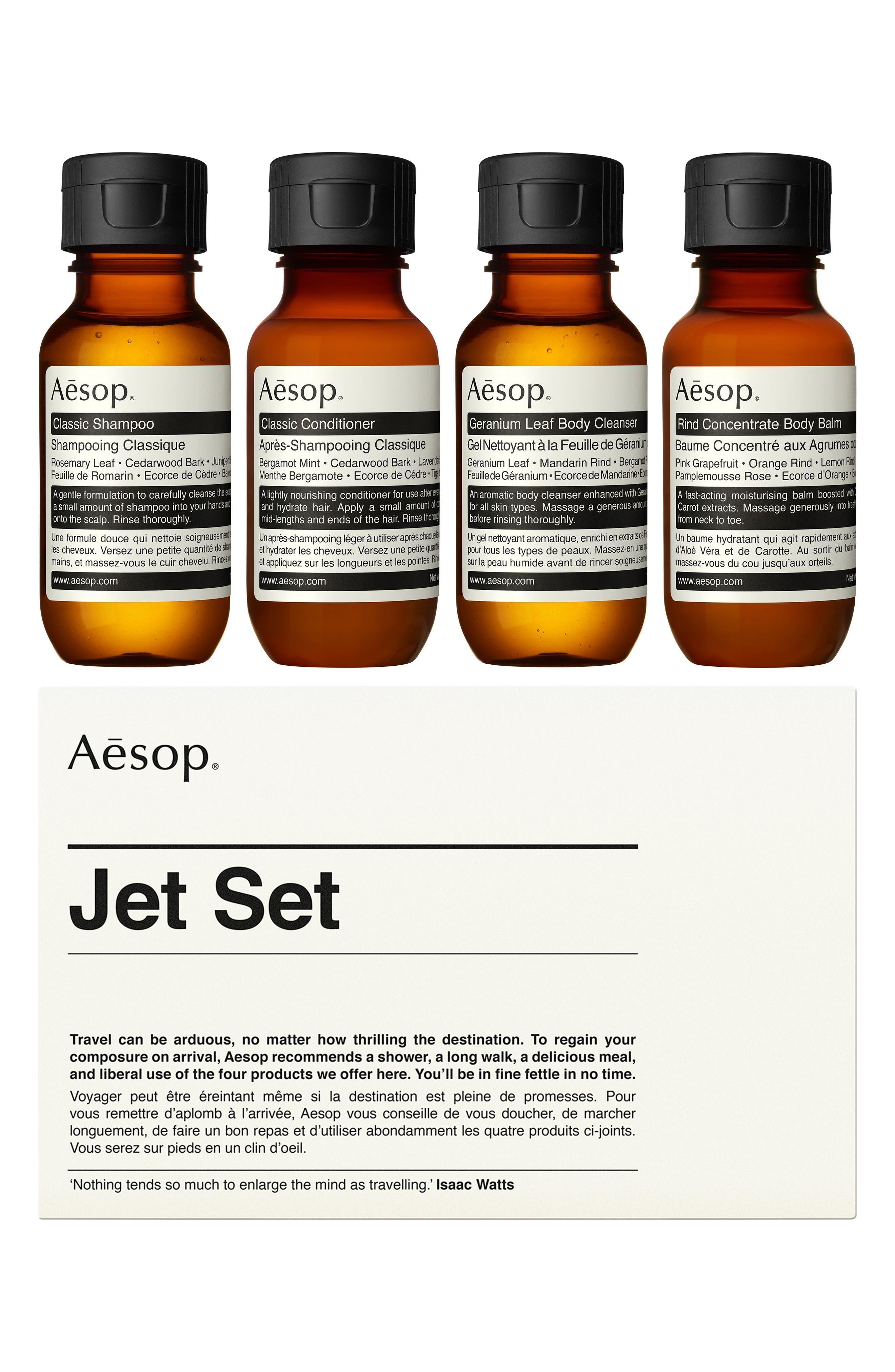 AESOP, Jet Set Travel Kit, Alternate thumbnail 2, color, NONE