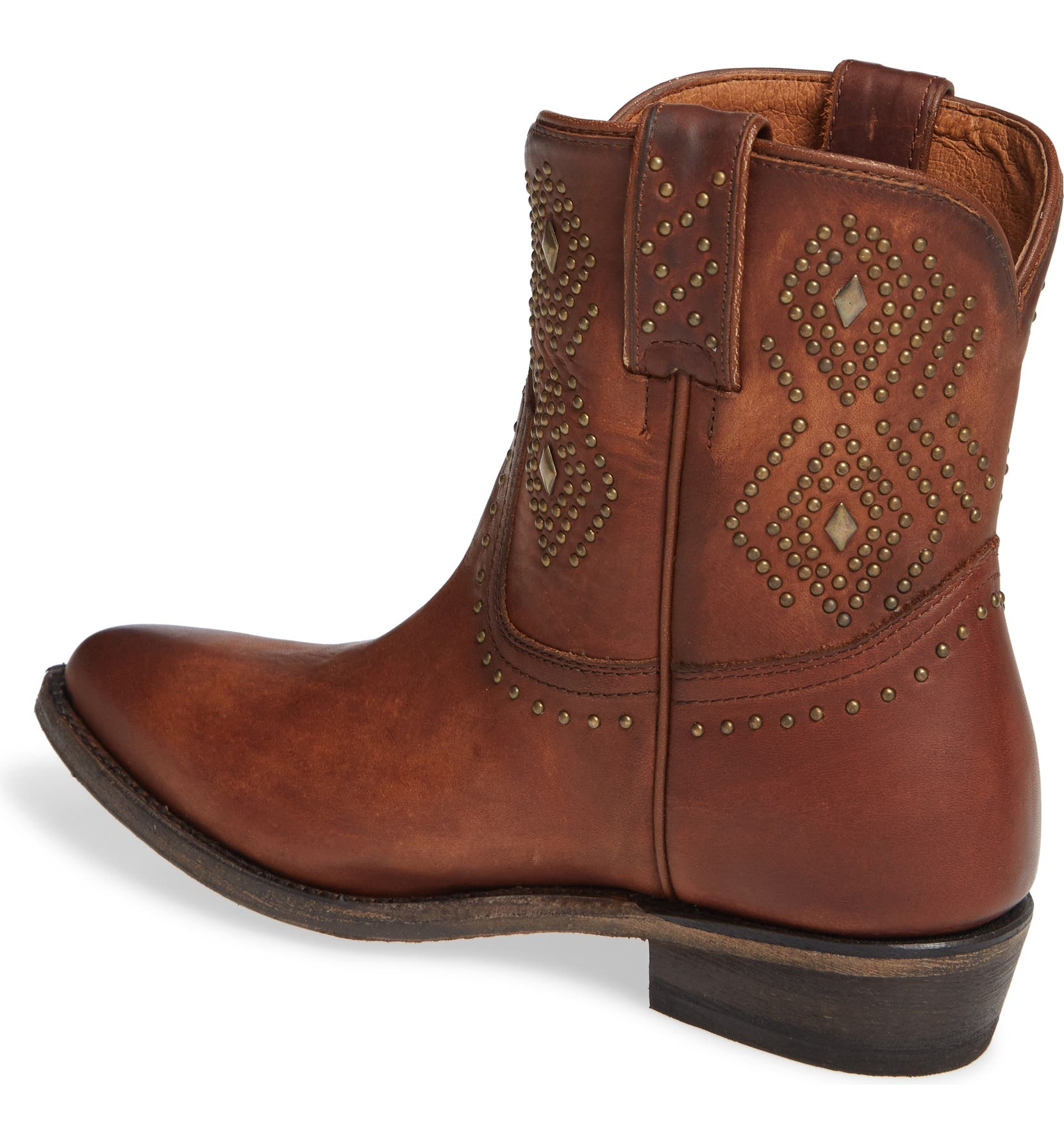 8b661ec8a39 Frye Billy Stud Short Western Boot (Women)
