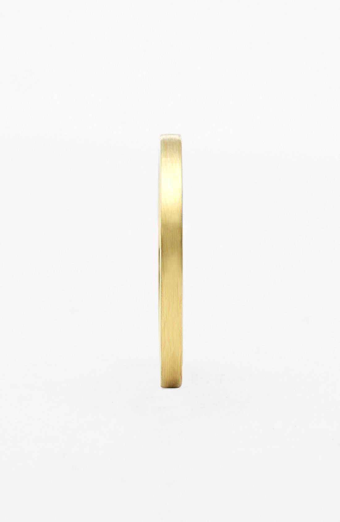 BONY LEVY, 14k Gold Midi Ring, Alternate thumbnail 2, color, YELLOW GOLD