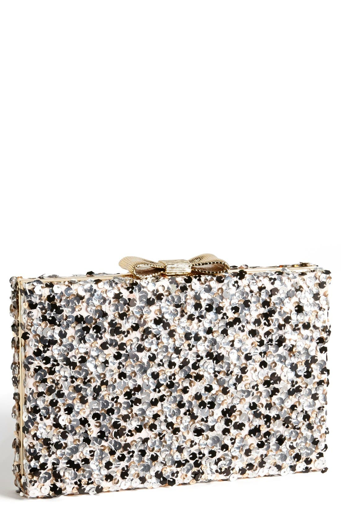 KATE SPADE NEW YORK, 'emanuelle' clutch, Main thumbnail 1, color, 256