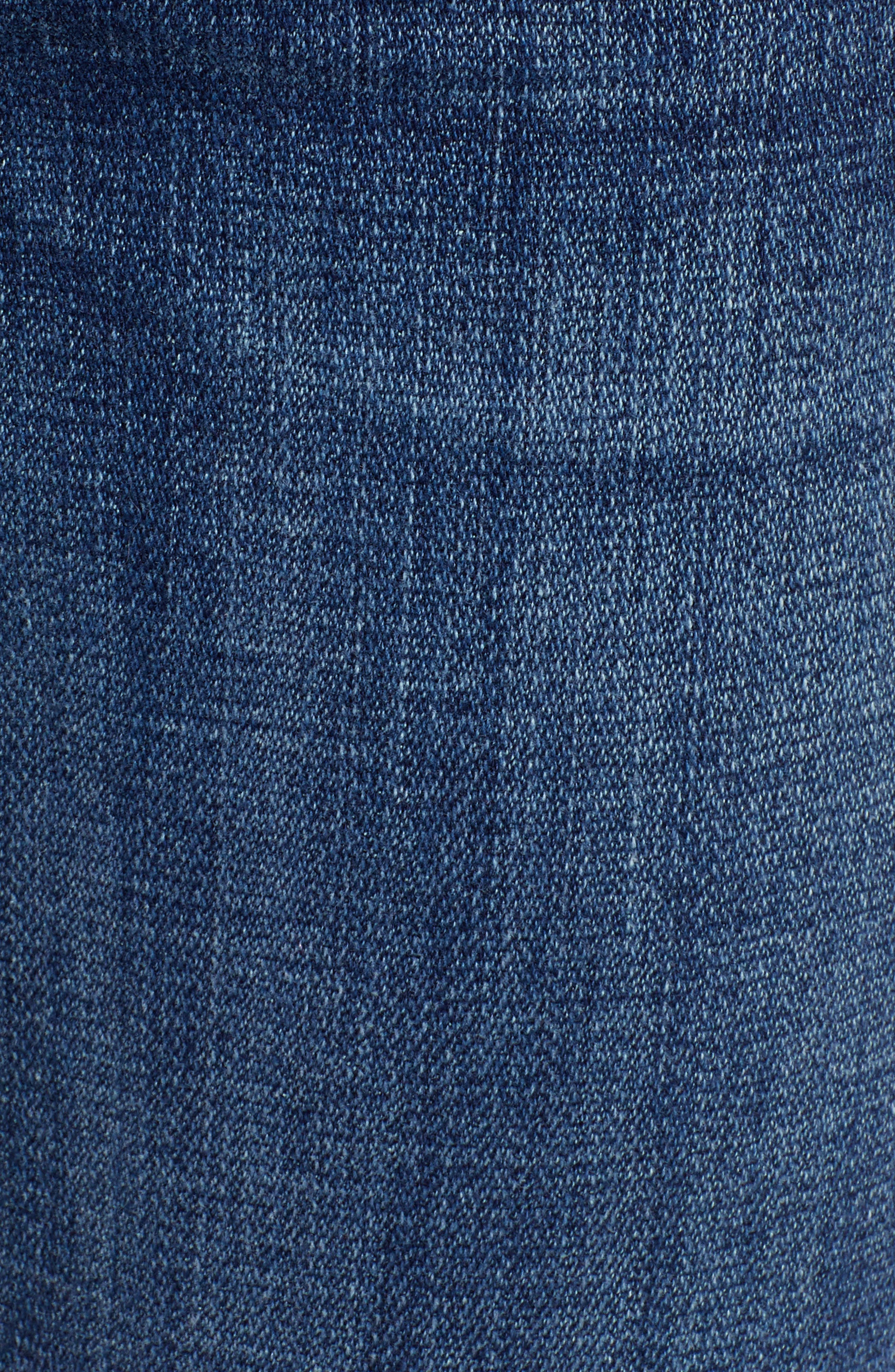 7 FOR ALL MANKIND<SUP>®</SUP>, Josefina Ankle Boyfriend Jeans, Alternate thumbnail 6, color, BROKEN TWILL VANITY CLEAN