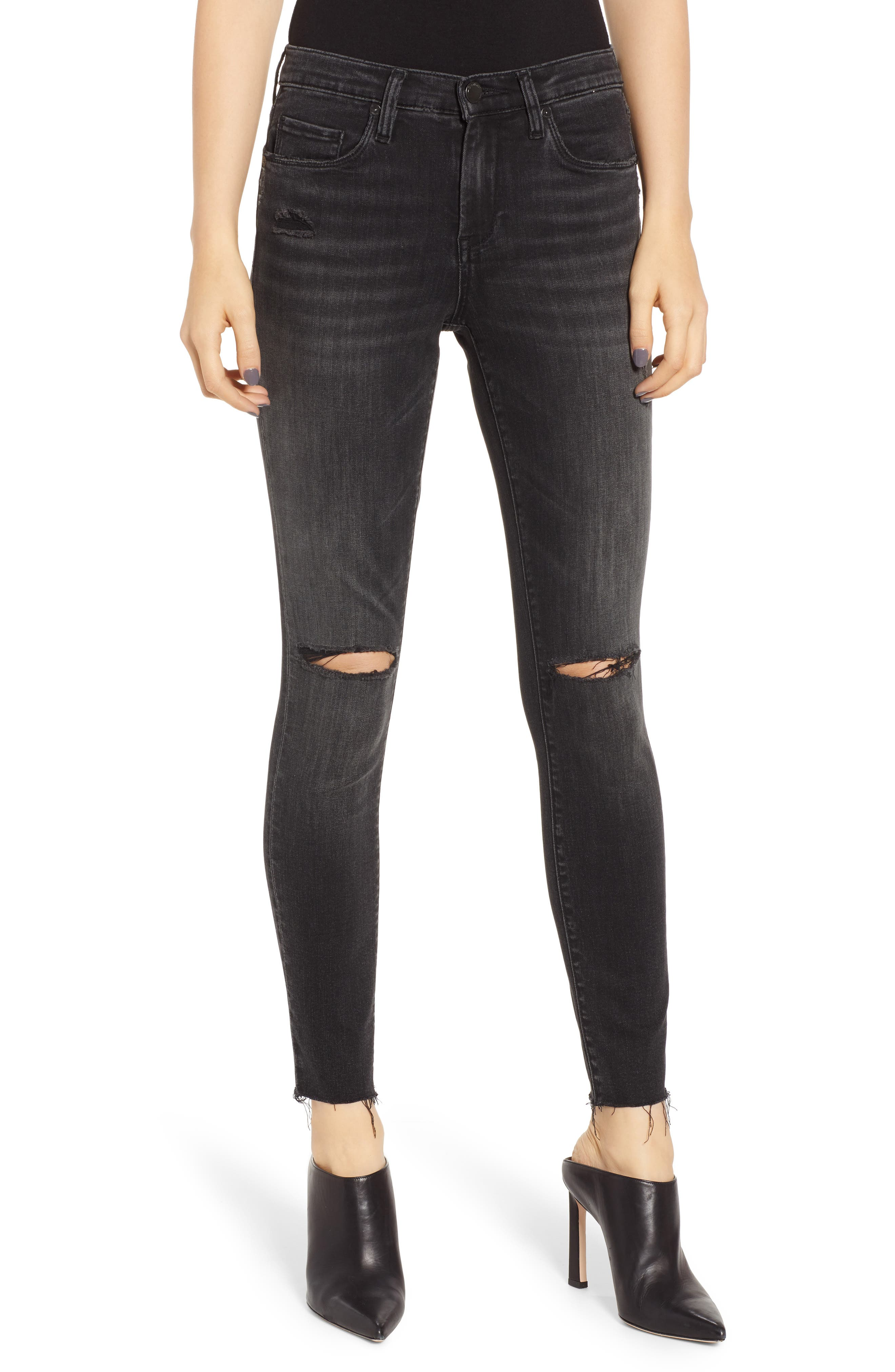 BLANKNYC, The Bond Skinny Jeans, Main thumbnail 1, color, 001