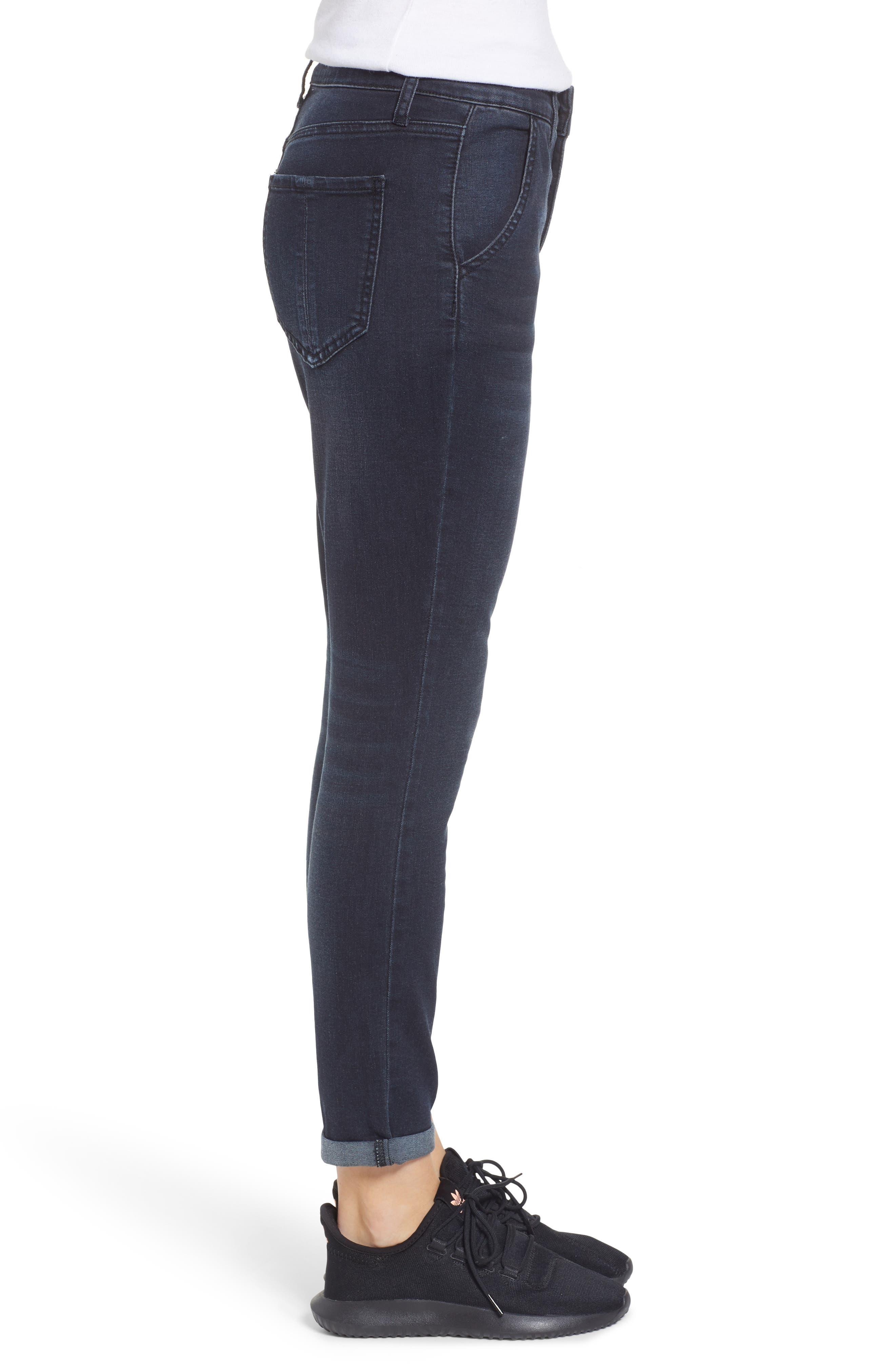 PROSPERITY DENIM, High Waist Ankle Boyfriend Jeans, Alternate thumbnail 4, color, ROCKER WASH