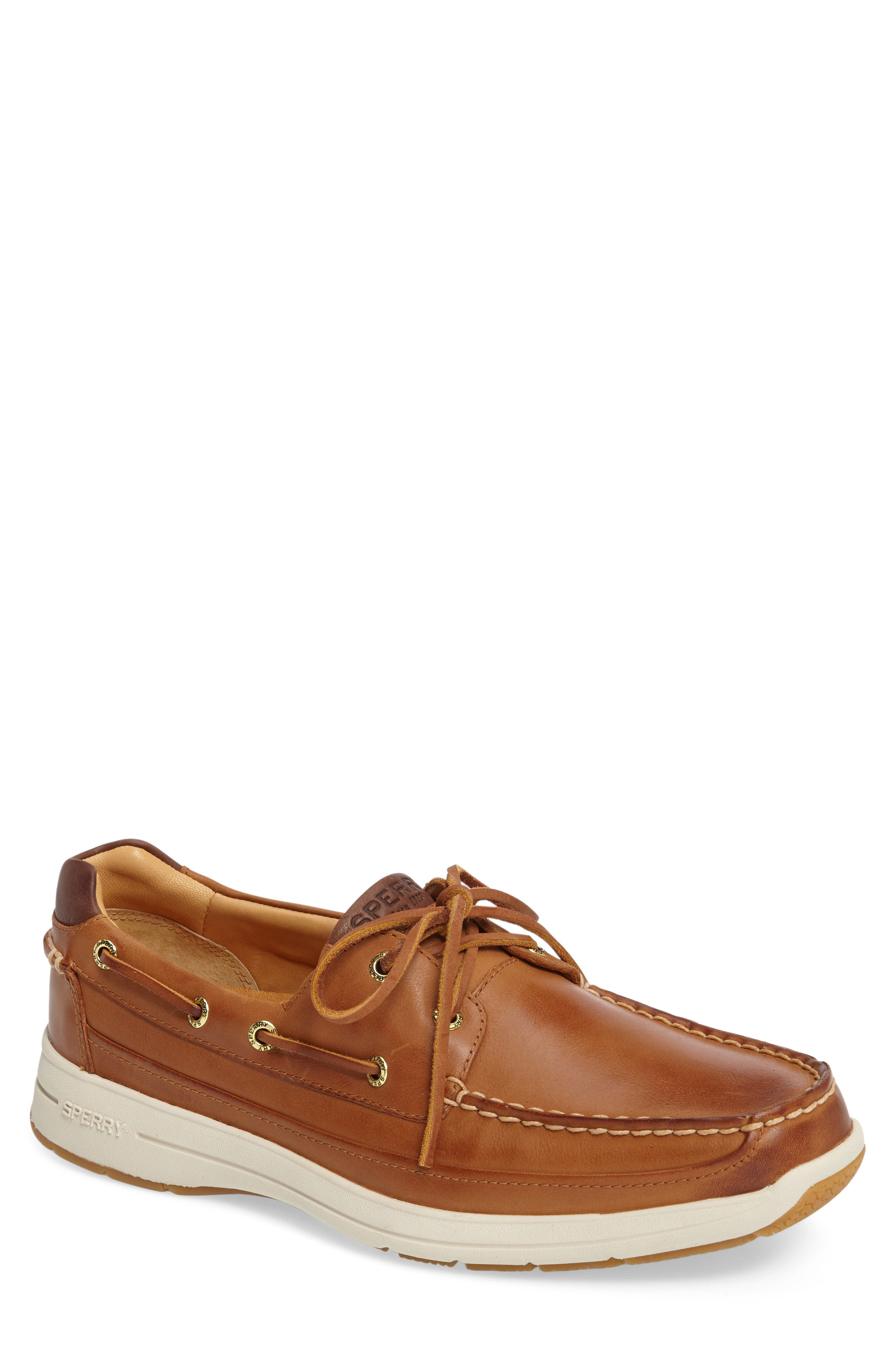 SPERRY, Gold Cup Ultralite Boat Shoe, Main thumbnail 1, color, TAN