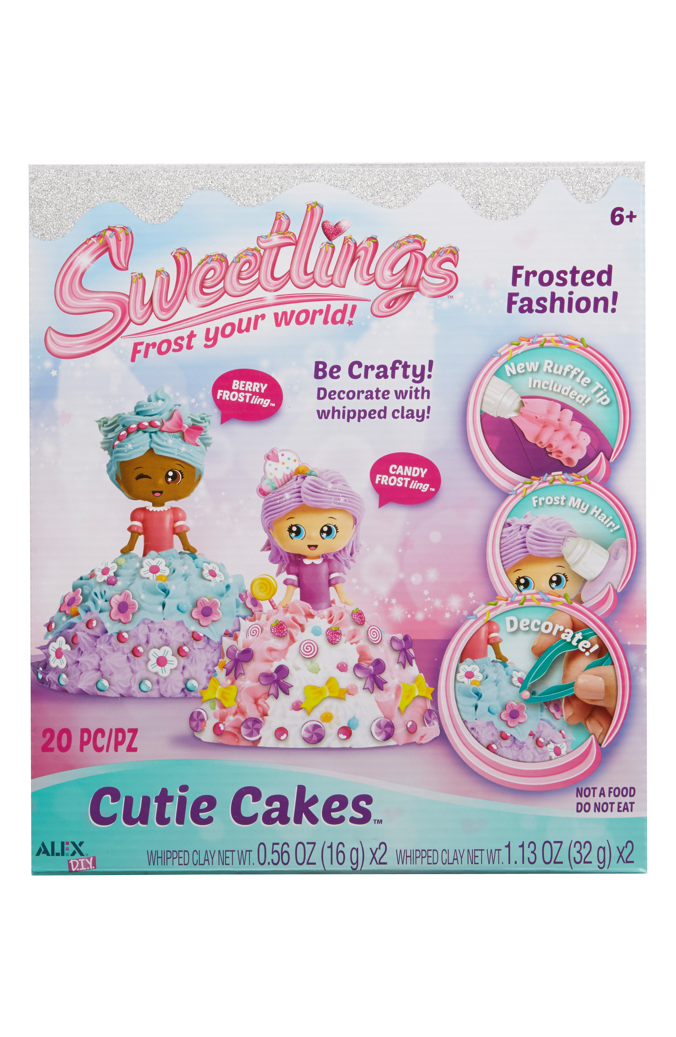 ALEX<SUP>®</SUP> TOYS DIY Sweetlings Cutie Cakes, Main, color, 960