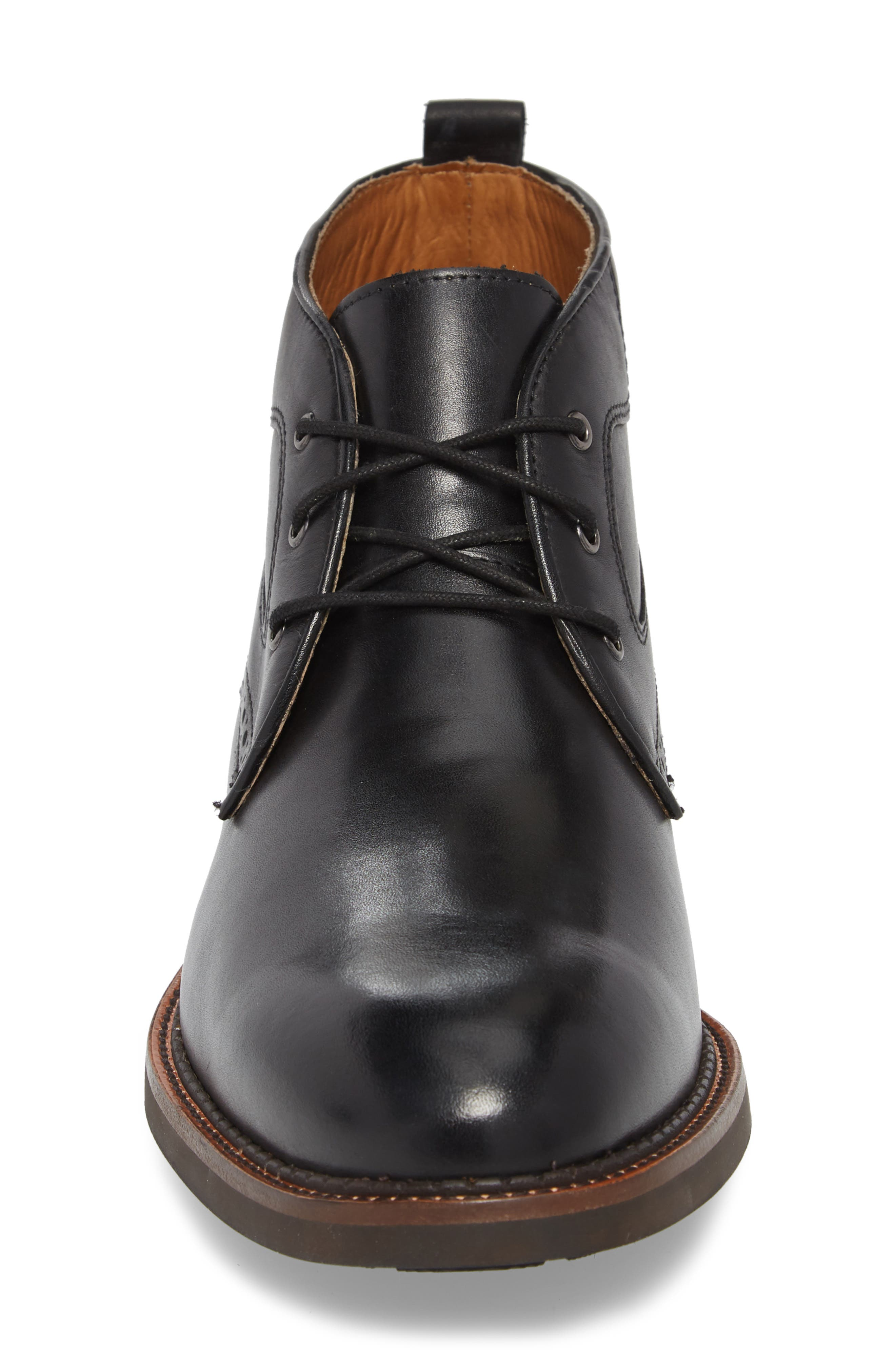 J&M 1850, Fullerton Chukka Boot, Alternate thumbnail 4, color, BLACK