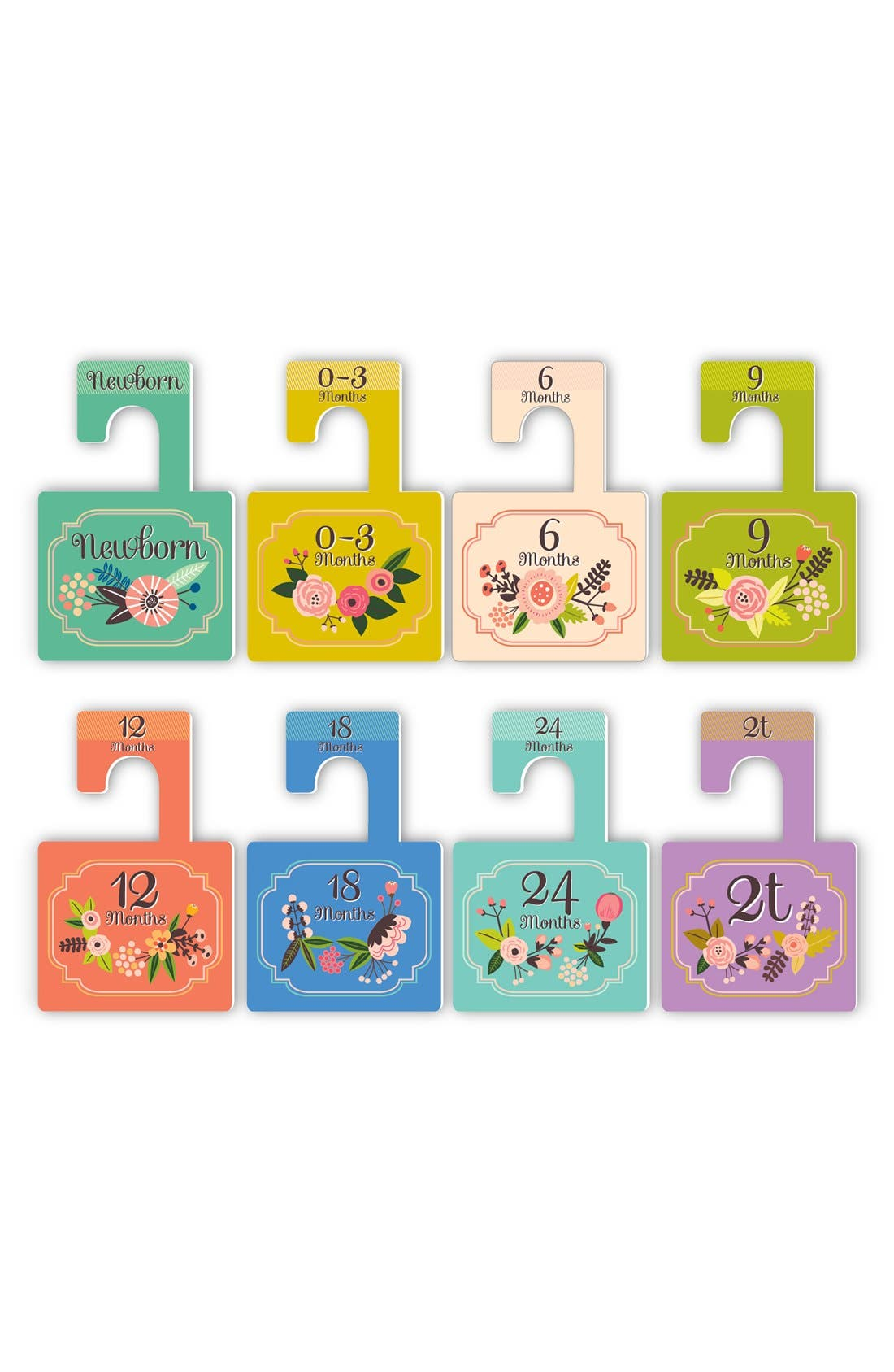 LUCY DARLING, 'Little Artist' Closet Dividers, Alternate thumbnail 3, color, 300