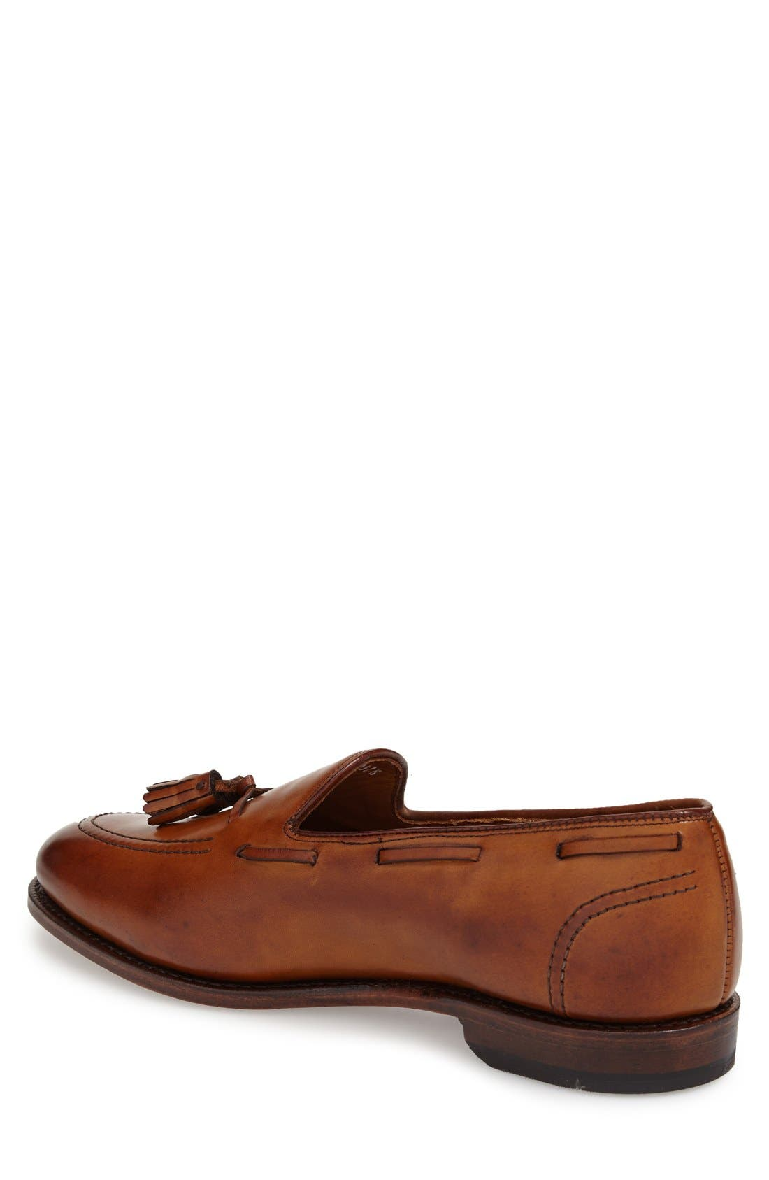 ALLEN EDMONDS, 'Acheson' Tassel Loafer, Alternate thumbnail 3, color, WALNUT