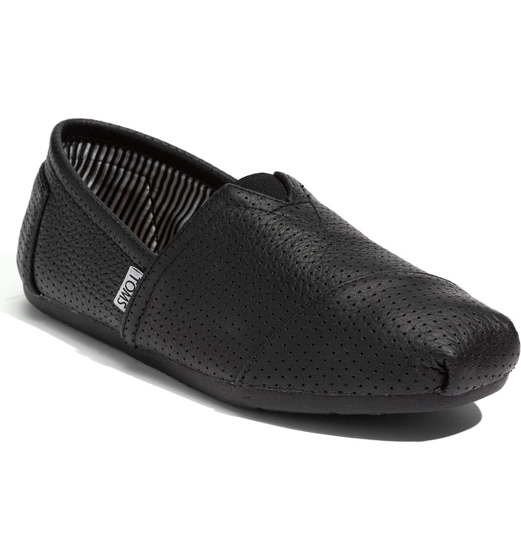 755d3fdf3a4 TOMS Perforated Leather Slip-On (Men)