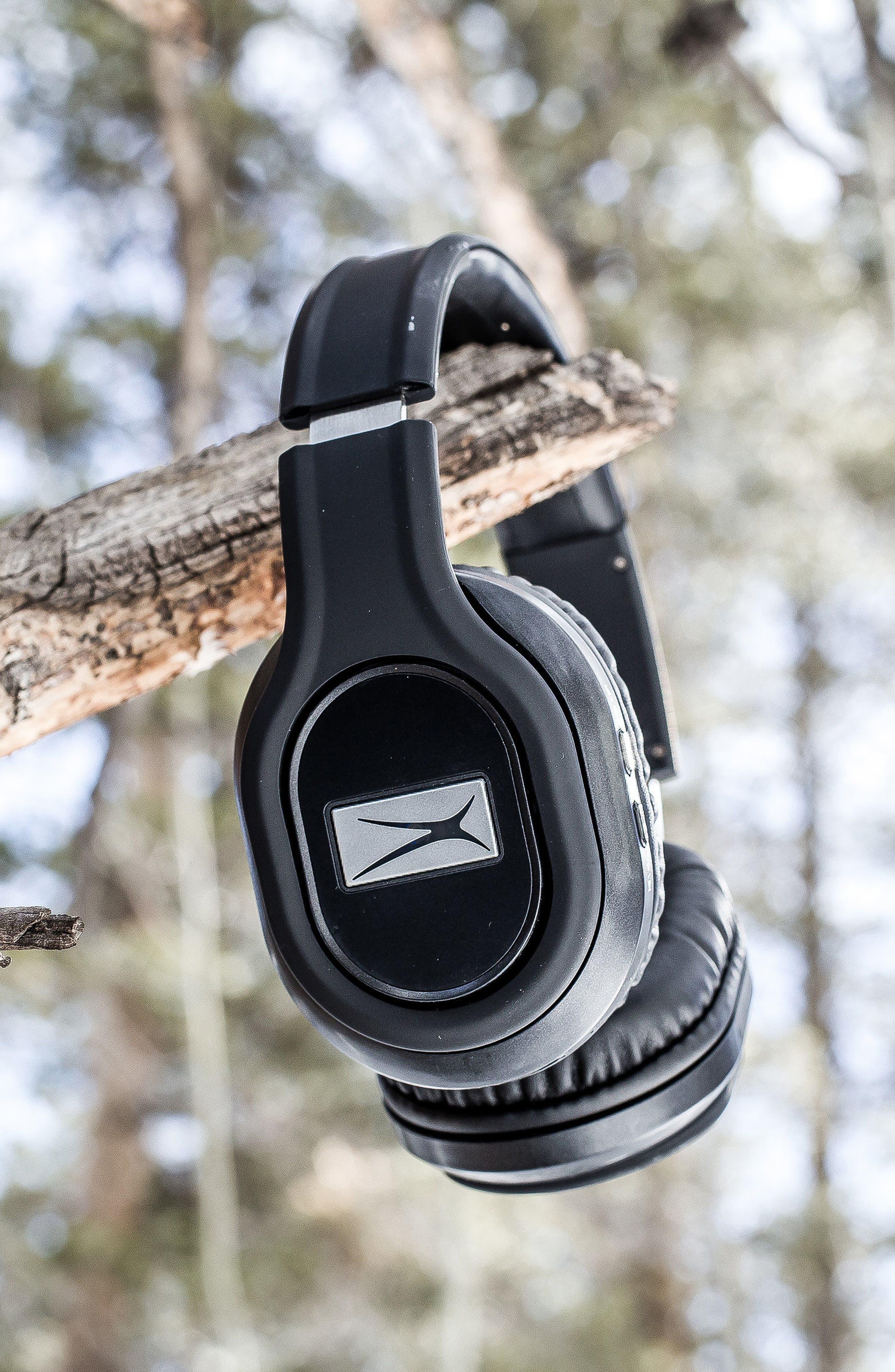 ALTEC LANSING, Evolution 2 Wireless Headphones, Alternate thumbnail 3, color, BLACK
