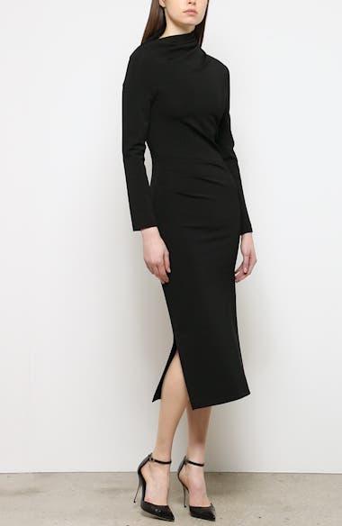 Side Drape Jersey Dress, video thumbnail
