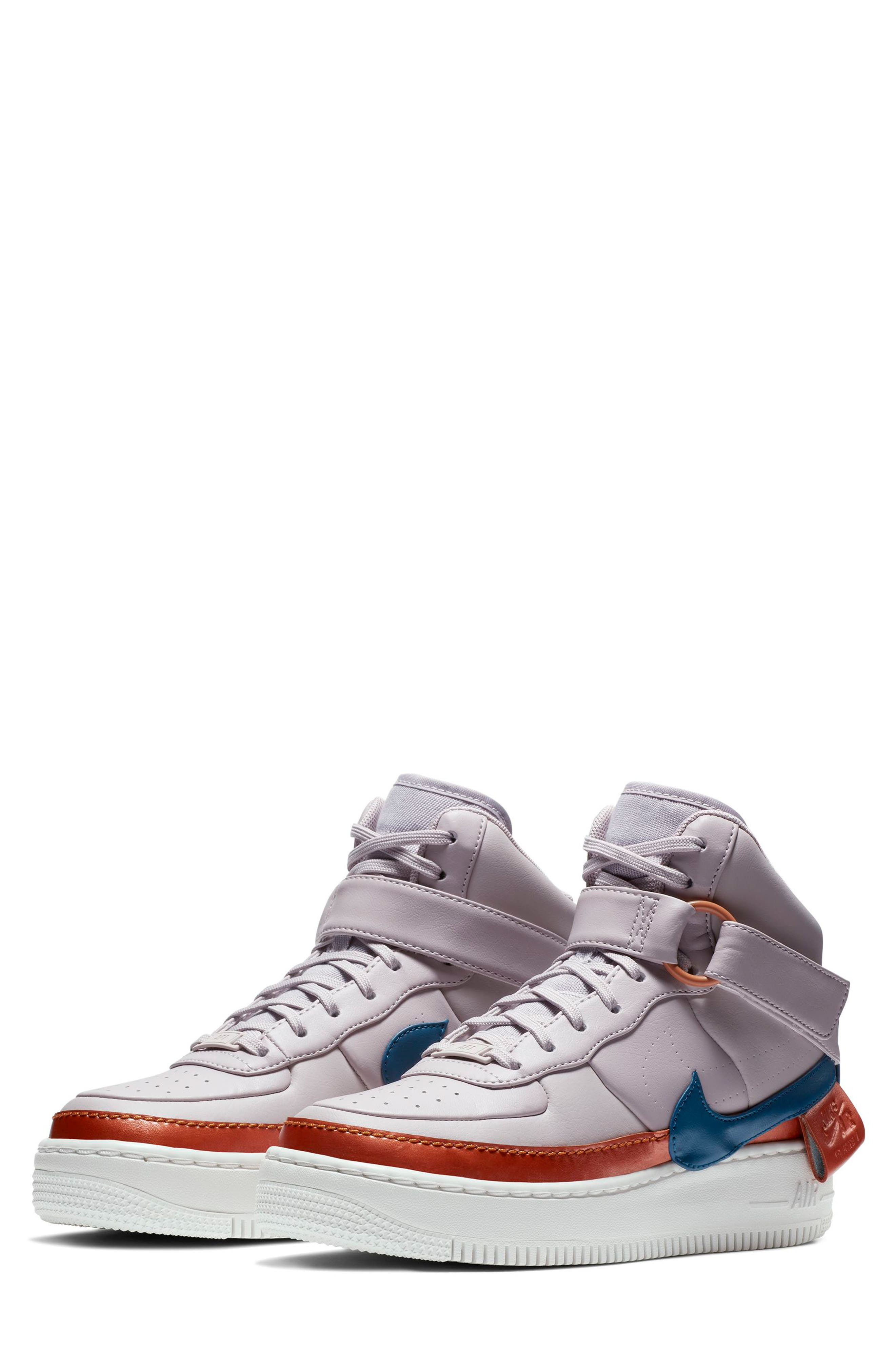 NIKE, Air Force 1 Jester High XX Sneaker, Main thumbnail 1, color, 500