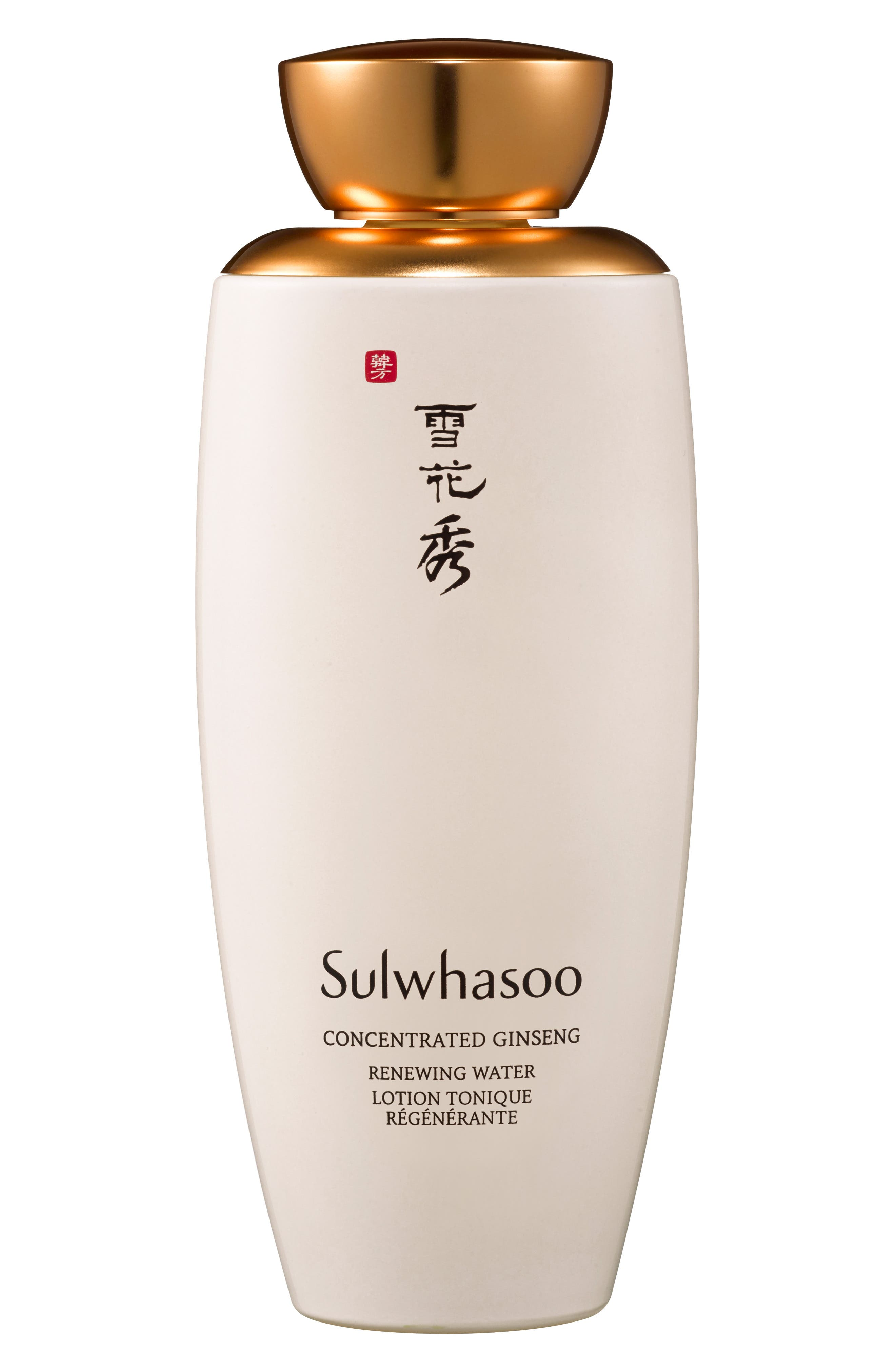 SULWHASOO, Concentrated Ginseng Water, Main thumbnail 1, color, NO COLOR