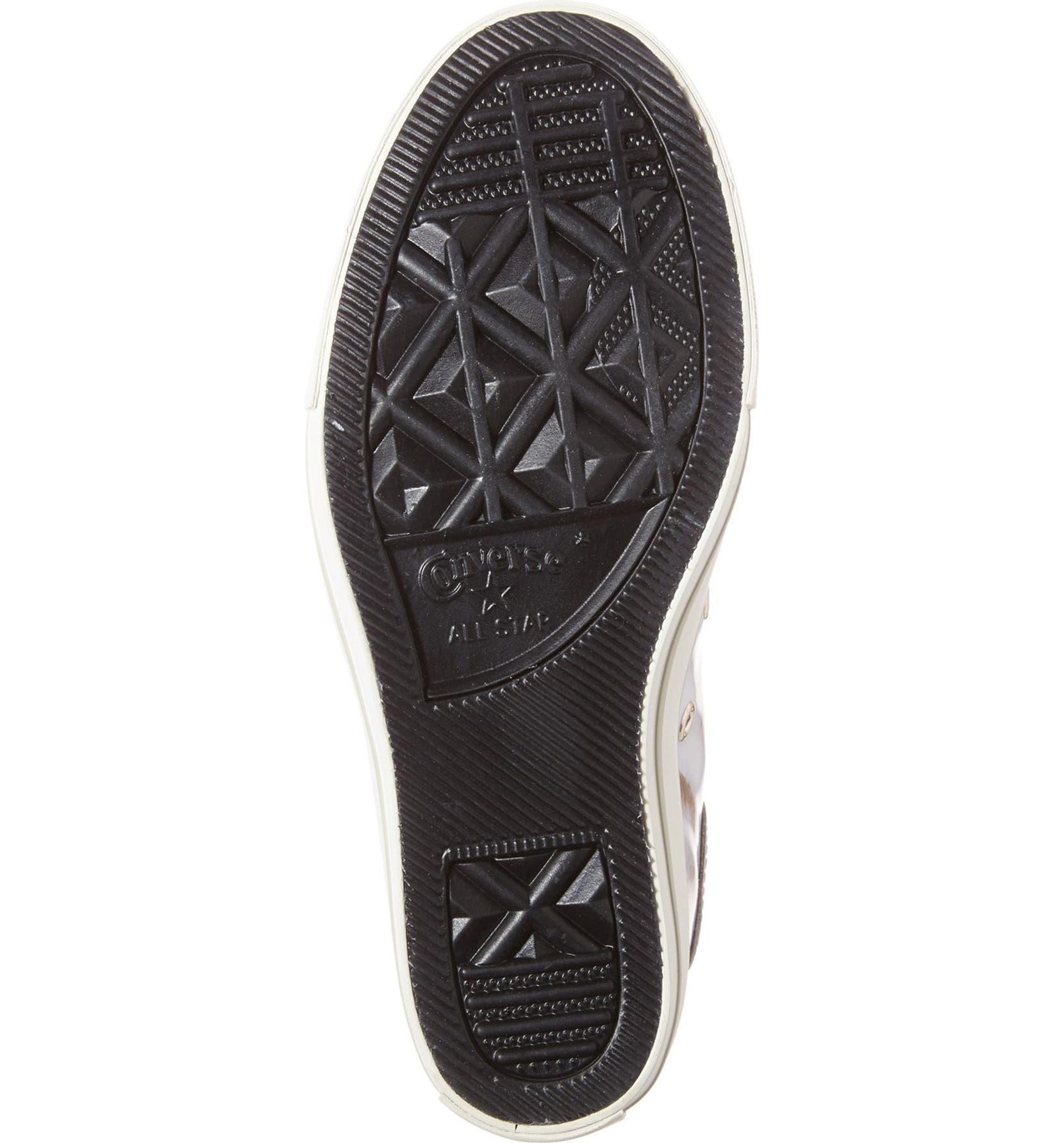 7eb3b1fbc551f5 Converse Chuck Taylor® All Star® Lux Brush Off Hidden Wedge High Top Sneaker  (Women)