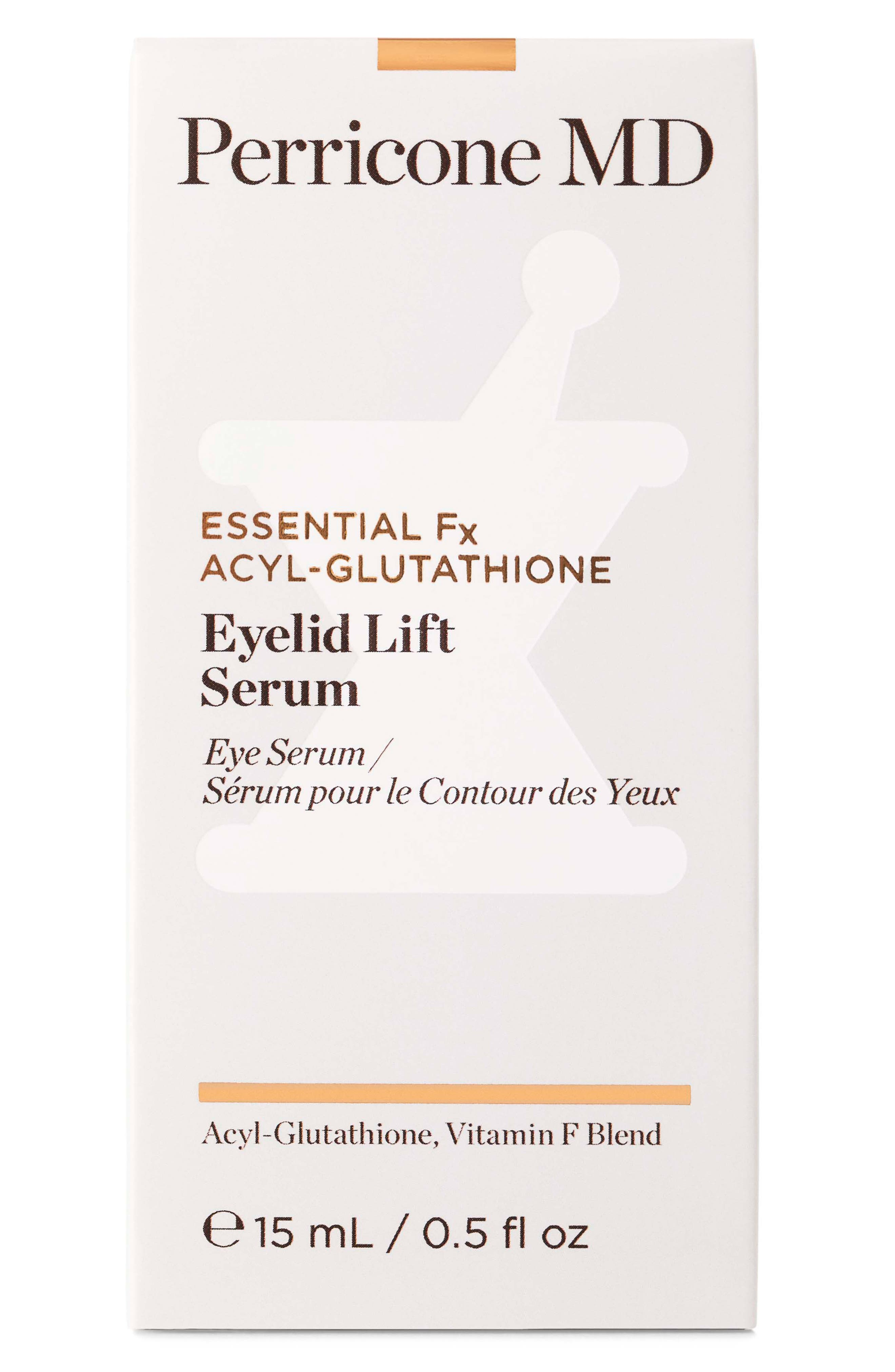 PERRICONE MD, Essential Fx Acyl-Glutathione Eyelid Lift Serum, Alternate thumbnail 3, color, NO COLOR