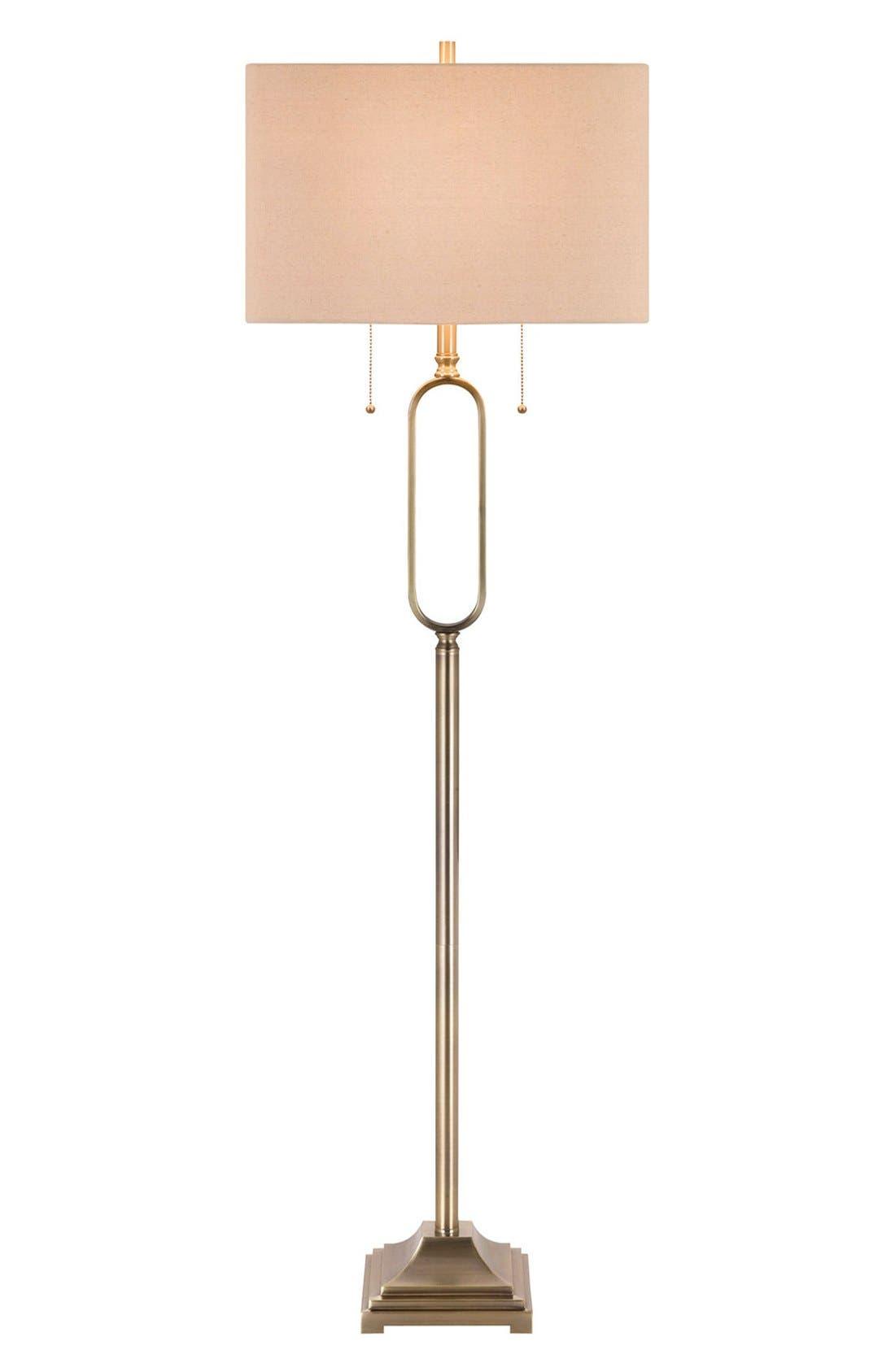 Jalexander Metal Floor Lamp Size One Size  Metallic